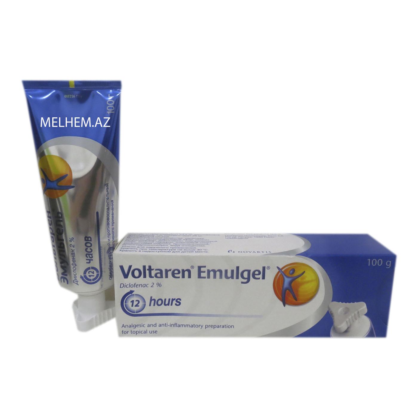 VOLTAREN EMULGEL 100 GR