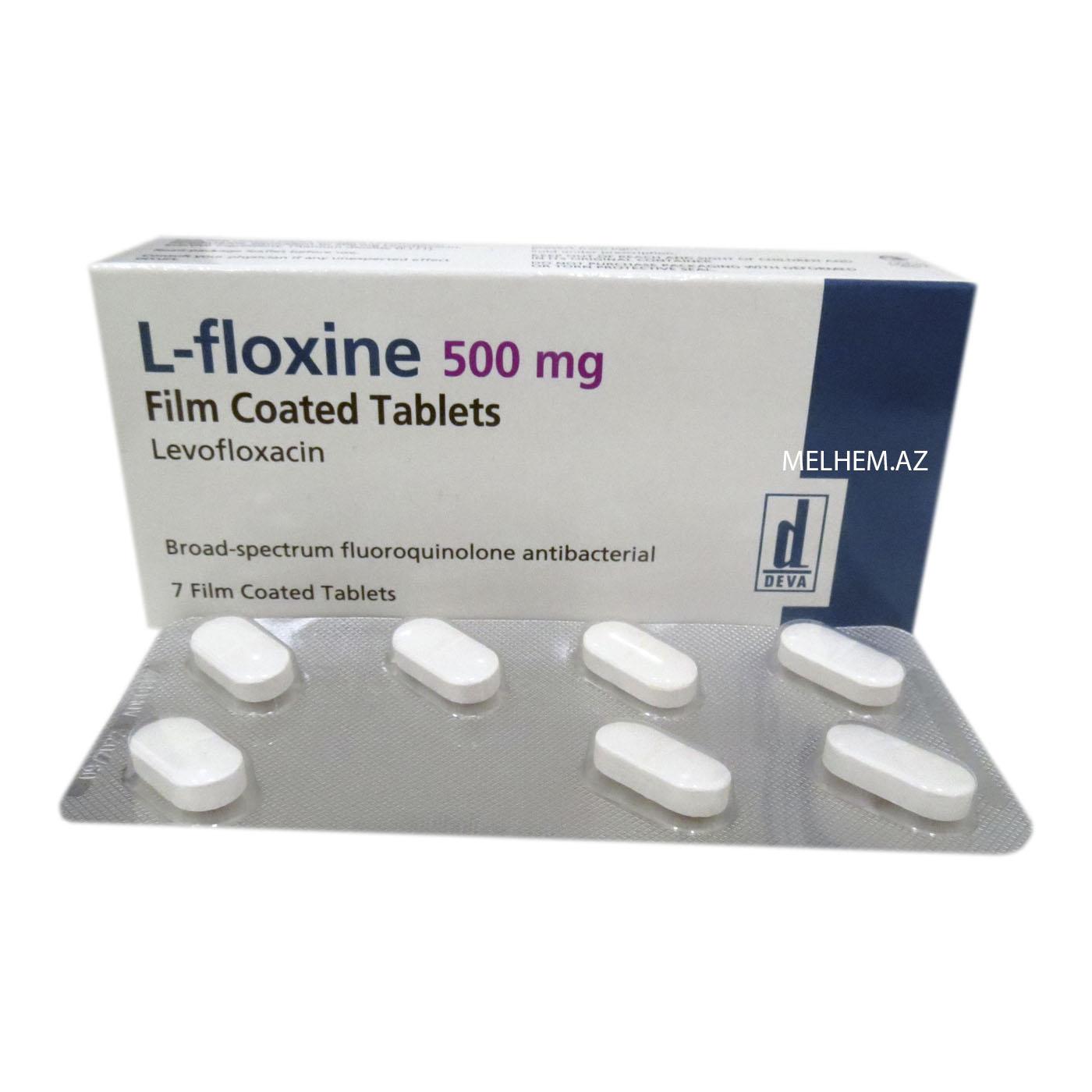 L-FLOXINE 500 MG