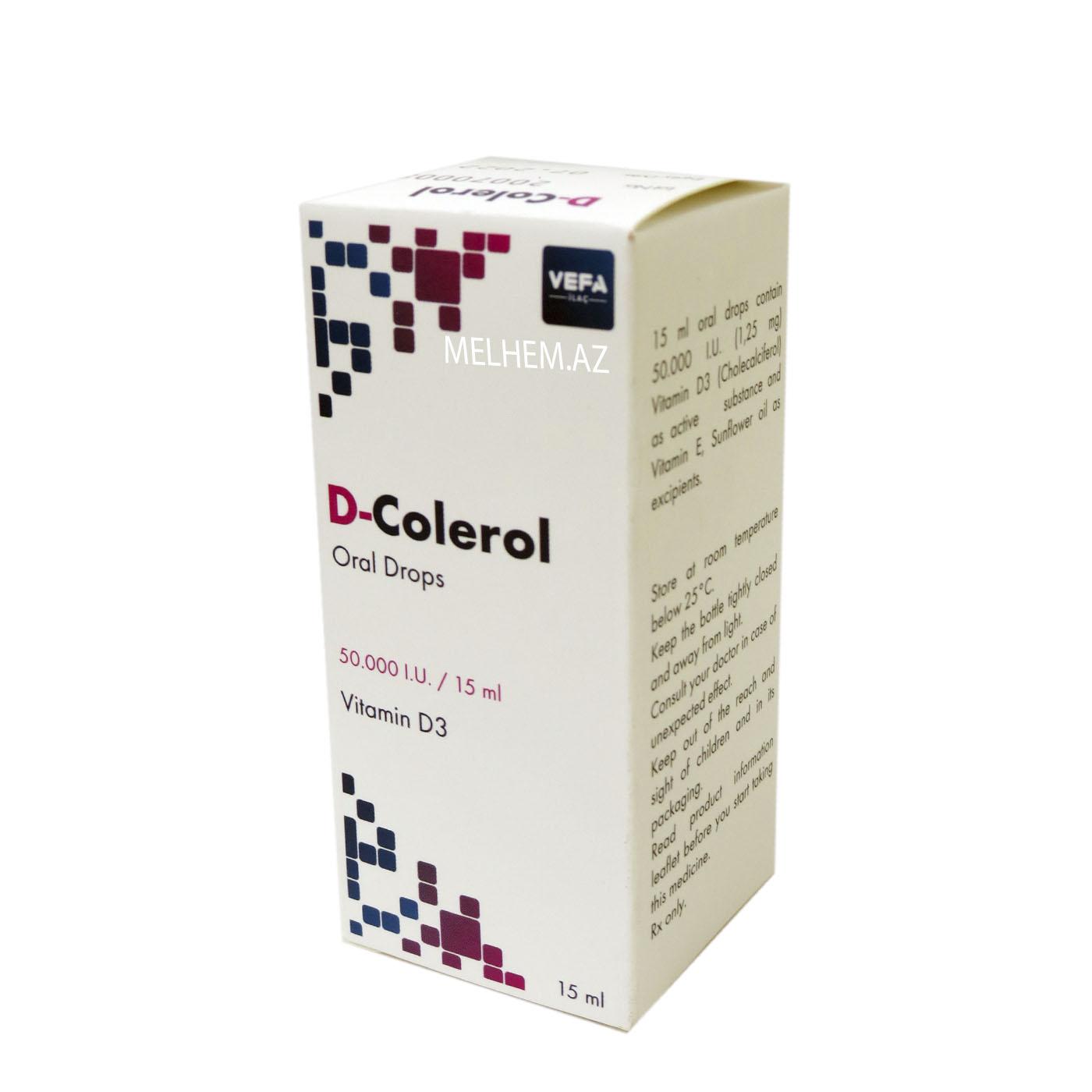 D-COLEROL 15ML (DAMCI)