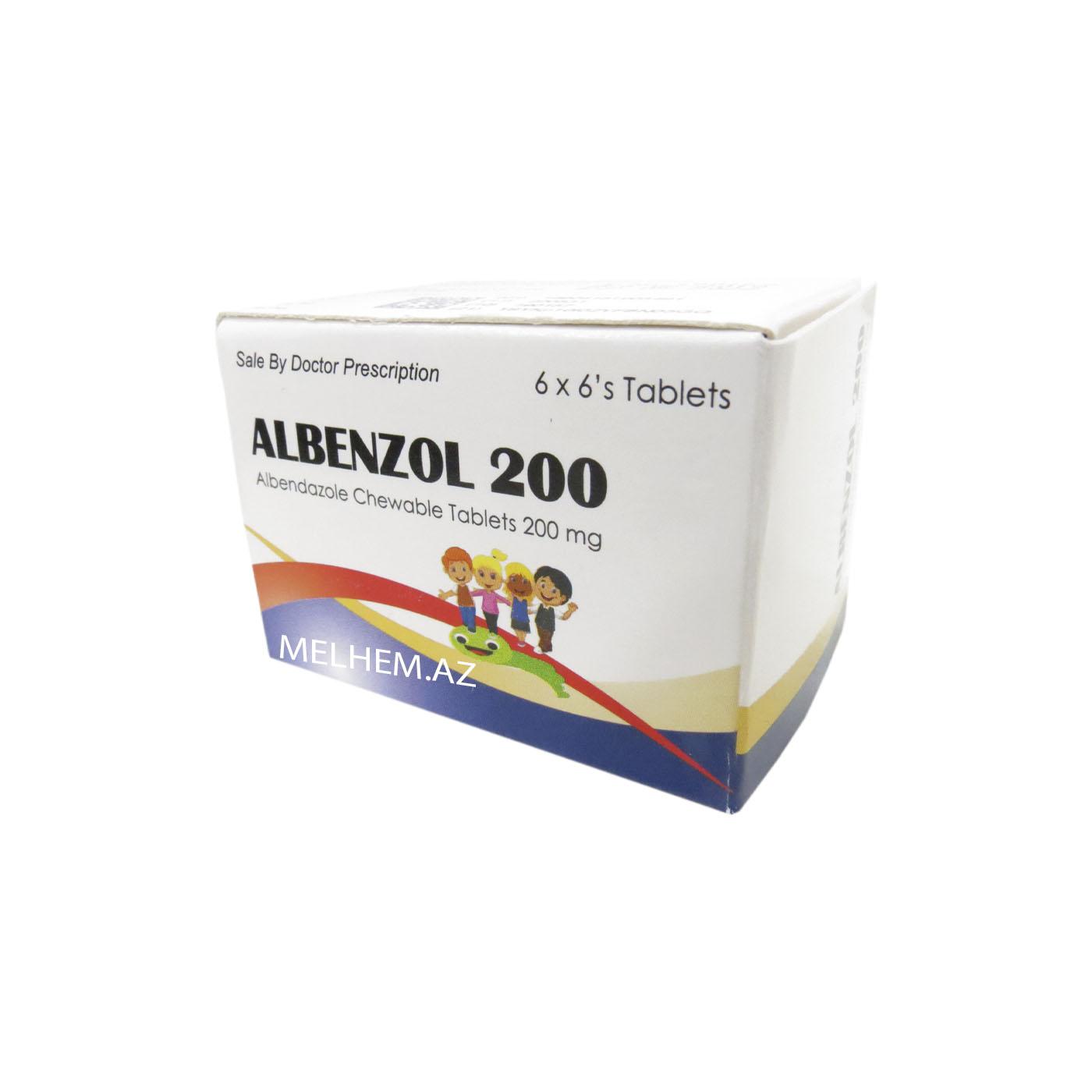 ALBENZOL 200 MQ N36