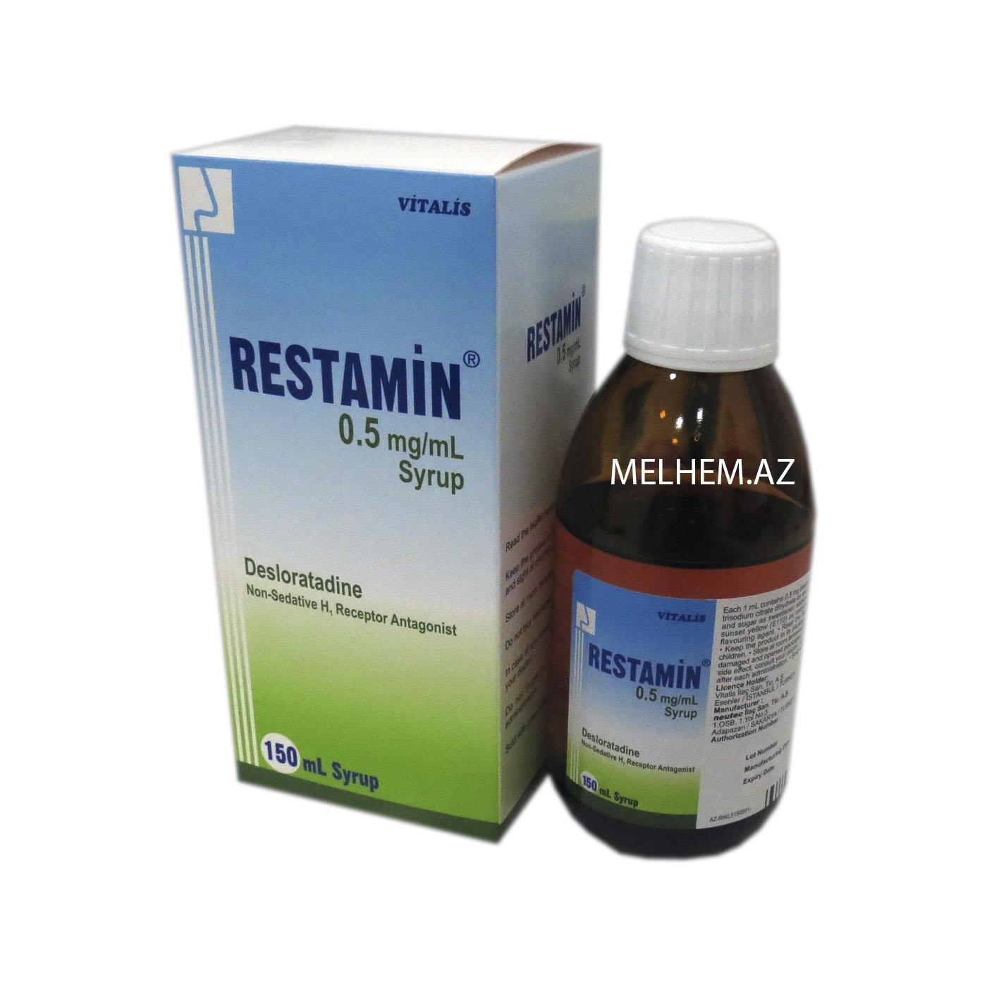 RESTAMIN 0.5 MQ/ML ( ŞƏRBƏT )