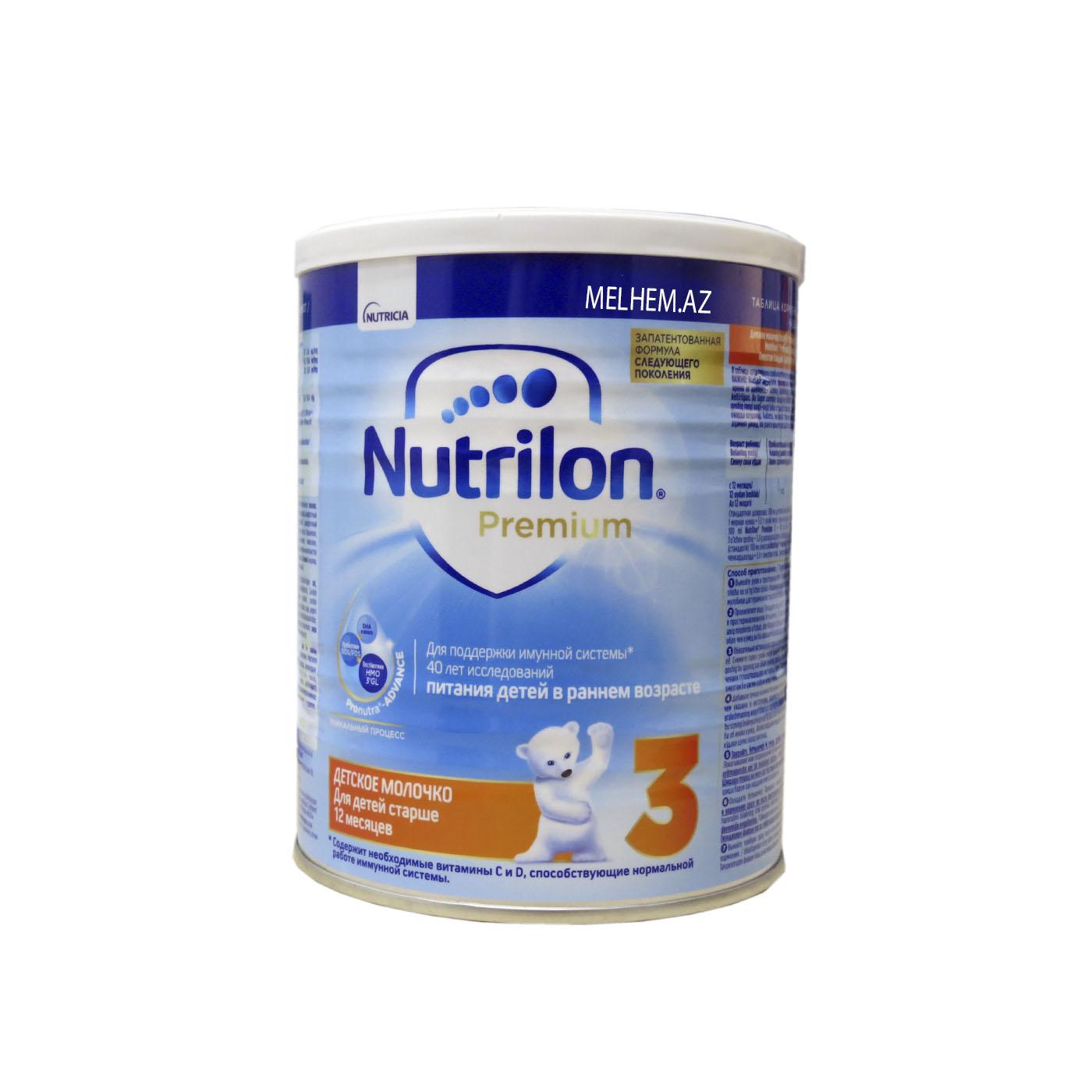 NUTRİLON 3 (PREMİUM)  400 Q