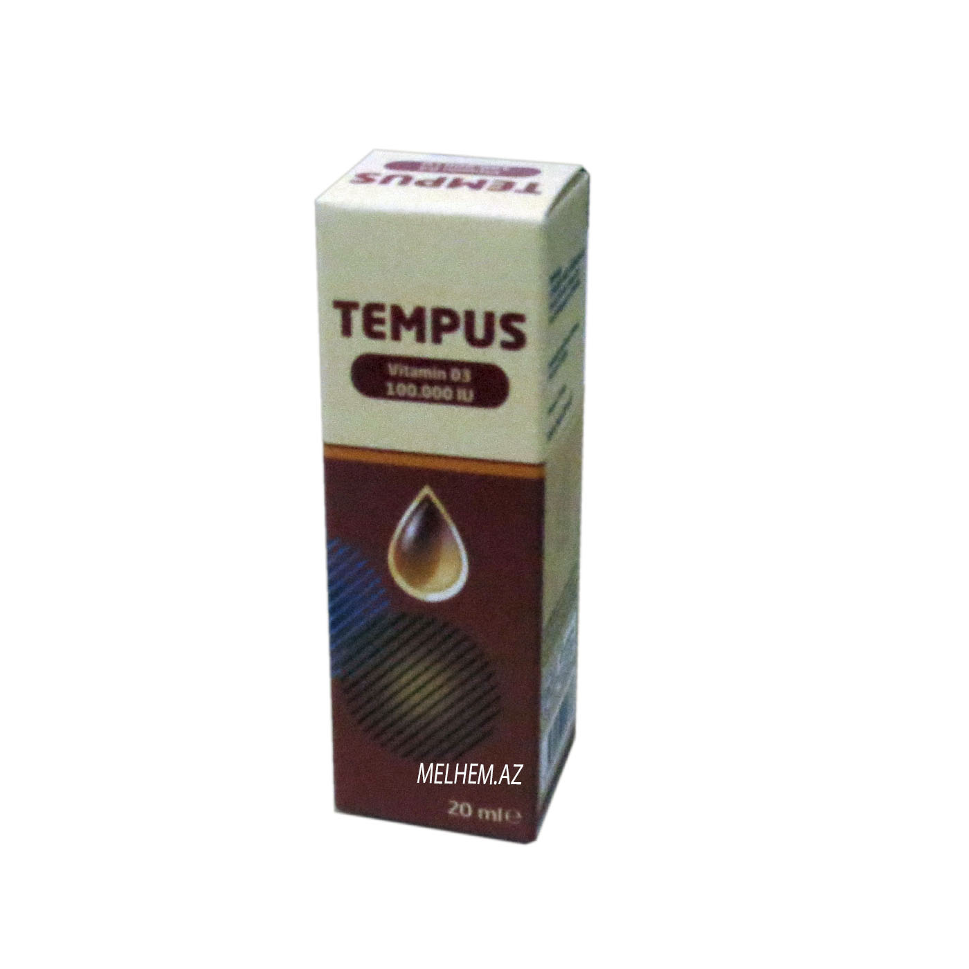 TEMPUS  (VİTAMİN D3) 20 ML