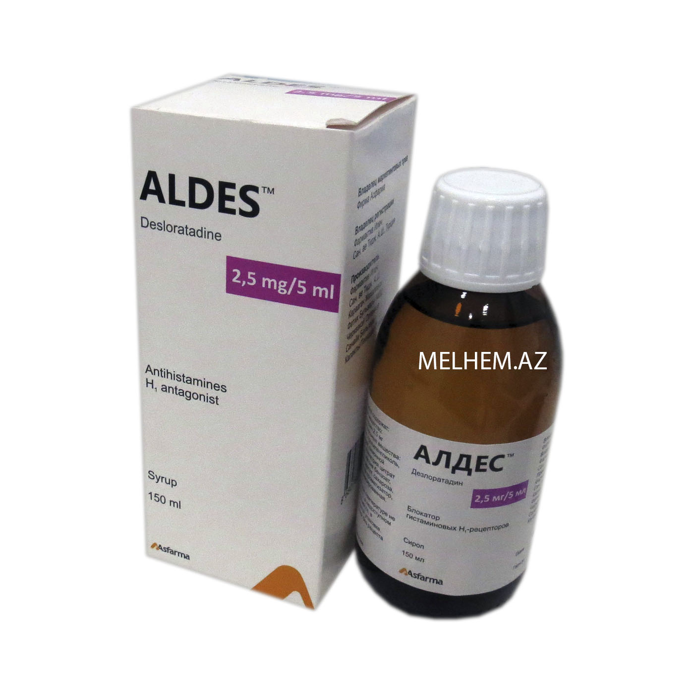 ALDES 2,5 MG/ 5 ML