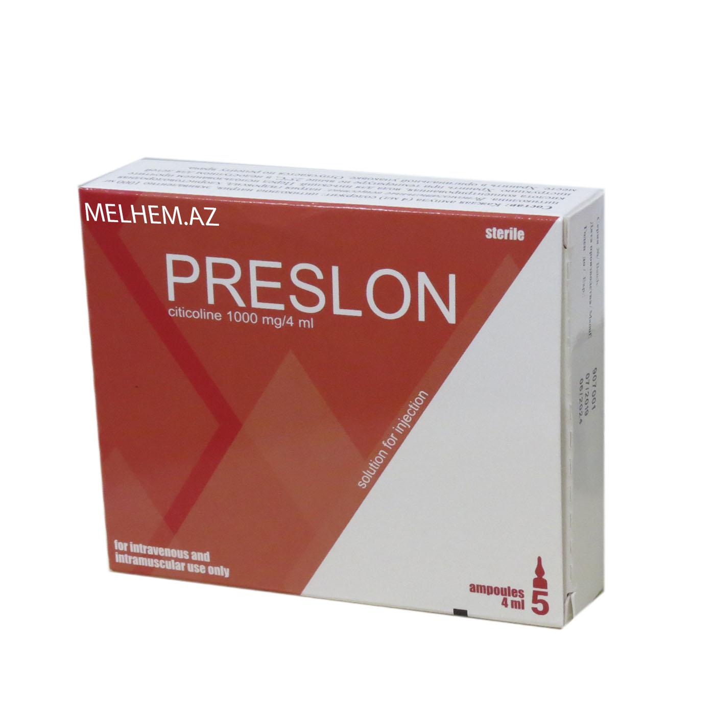 PRESLON N5 (AMPULA)