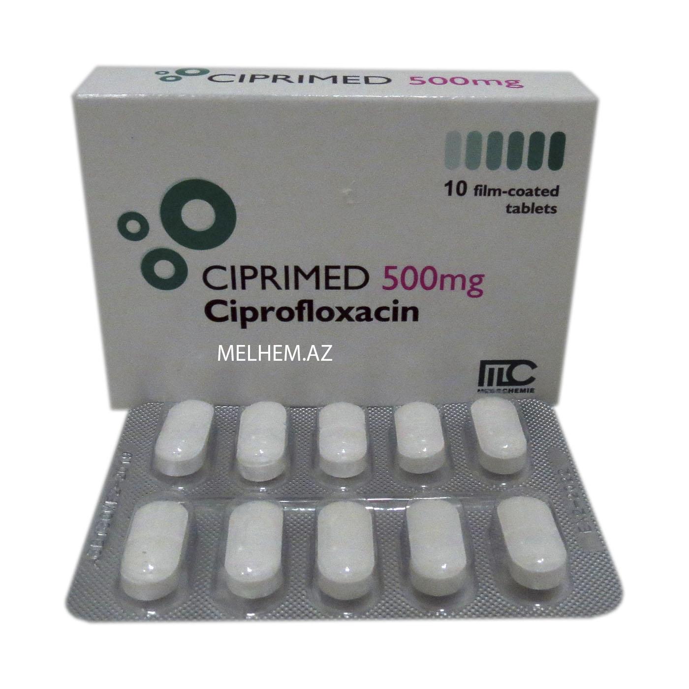 CIPRIMED 500 MG