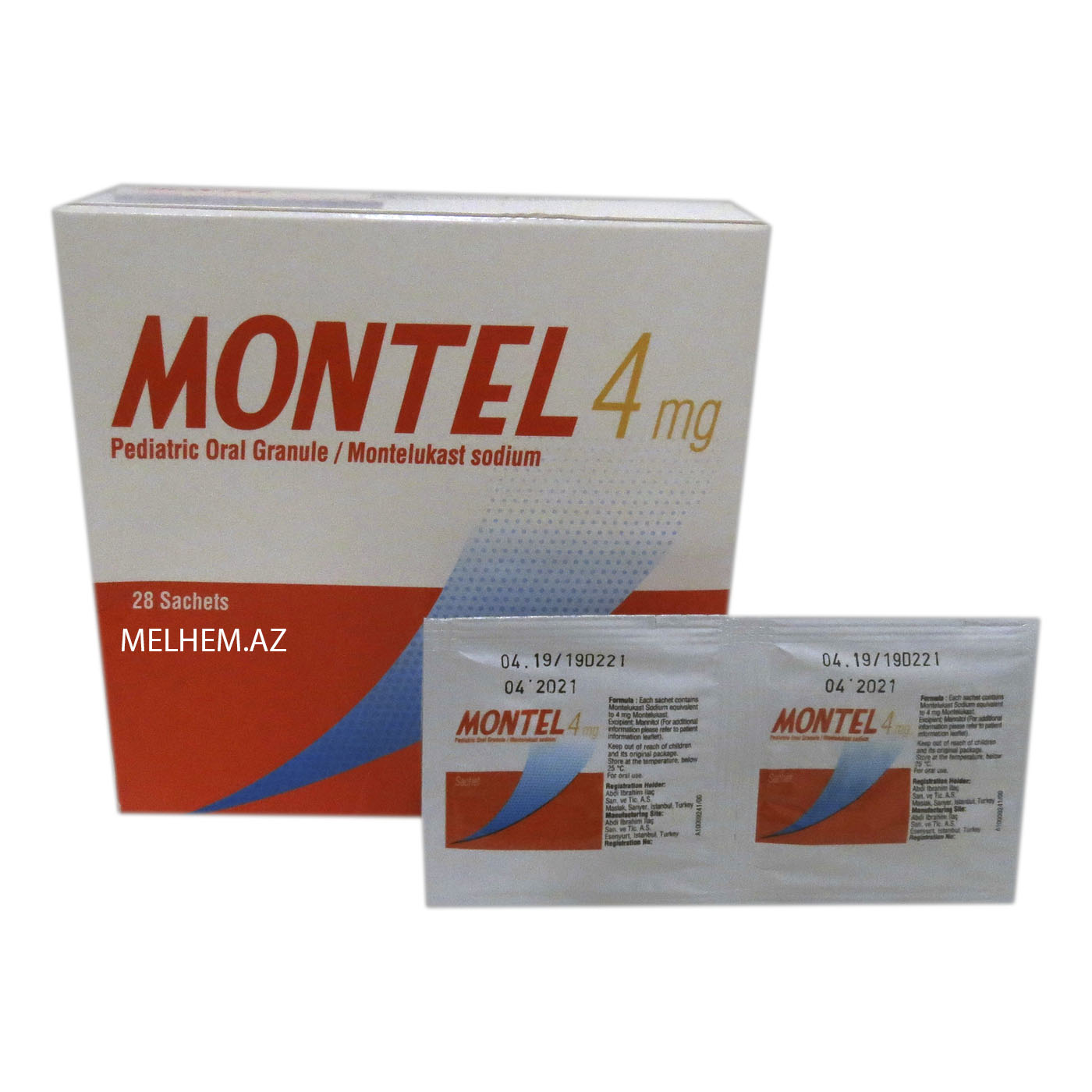 MONTEL 4 MG PEDIATRIK