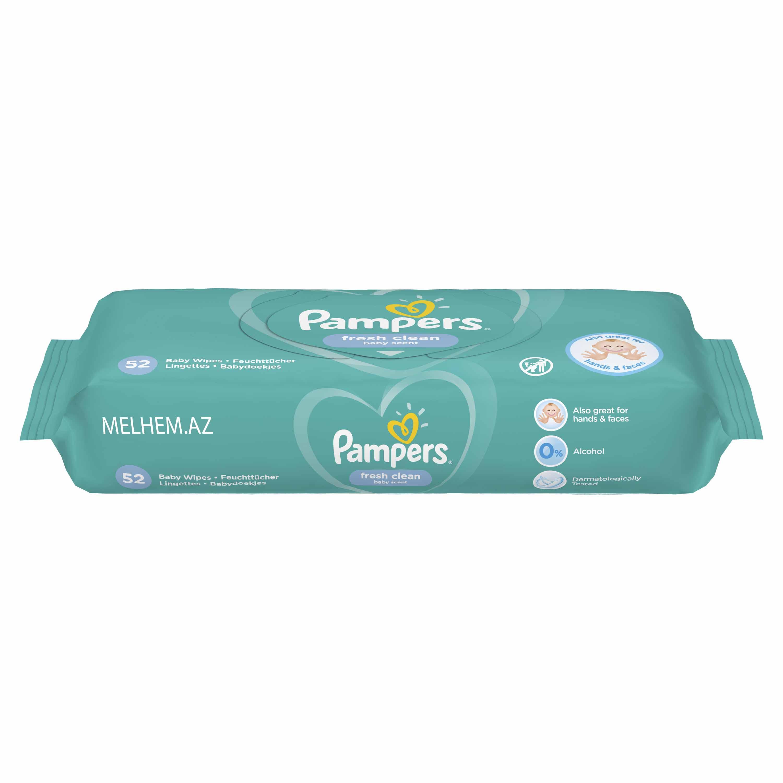 Pampers Wipes Fresh Clean *52 (SULU SALFETKA)