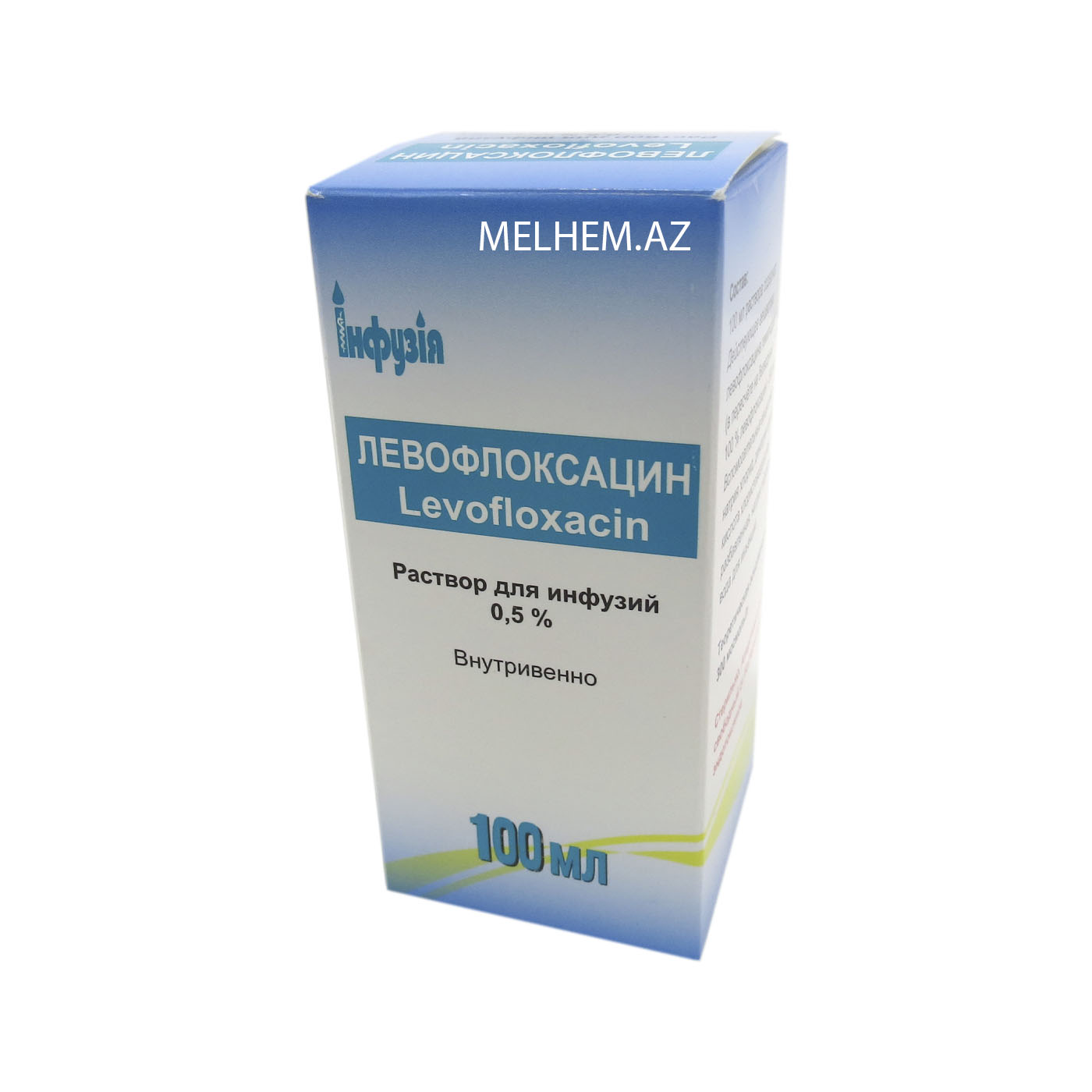 LEVOFLOKSASİN 0.5% 500Q/100 ML