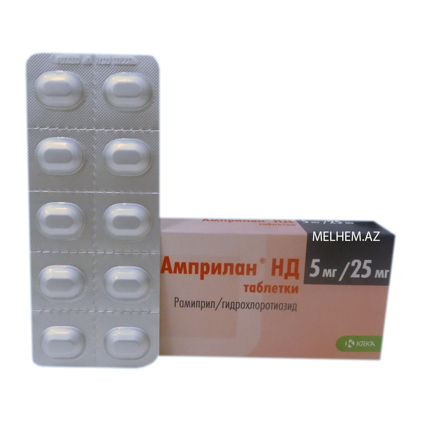 AMPRILAN ND 5 MG/25 MG