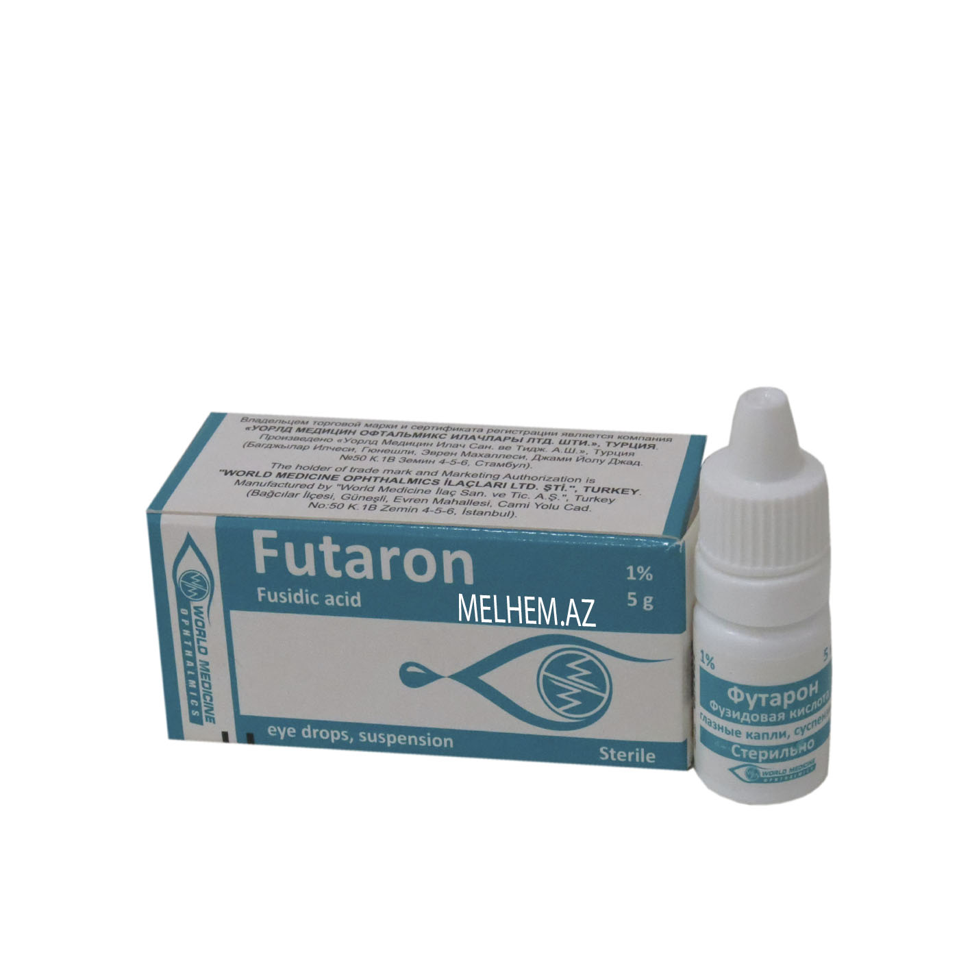 FUTARON 1%  5 QR (GÖZ DAMCISI)