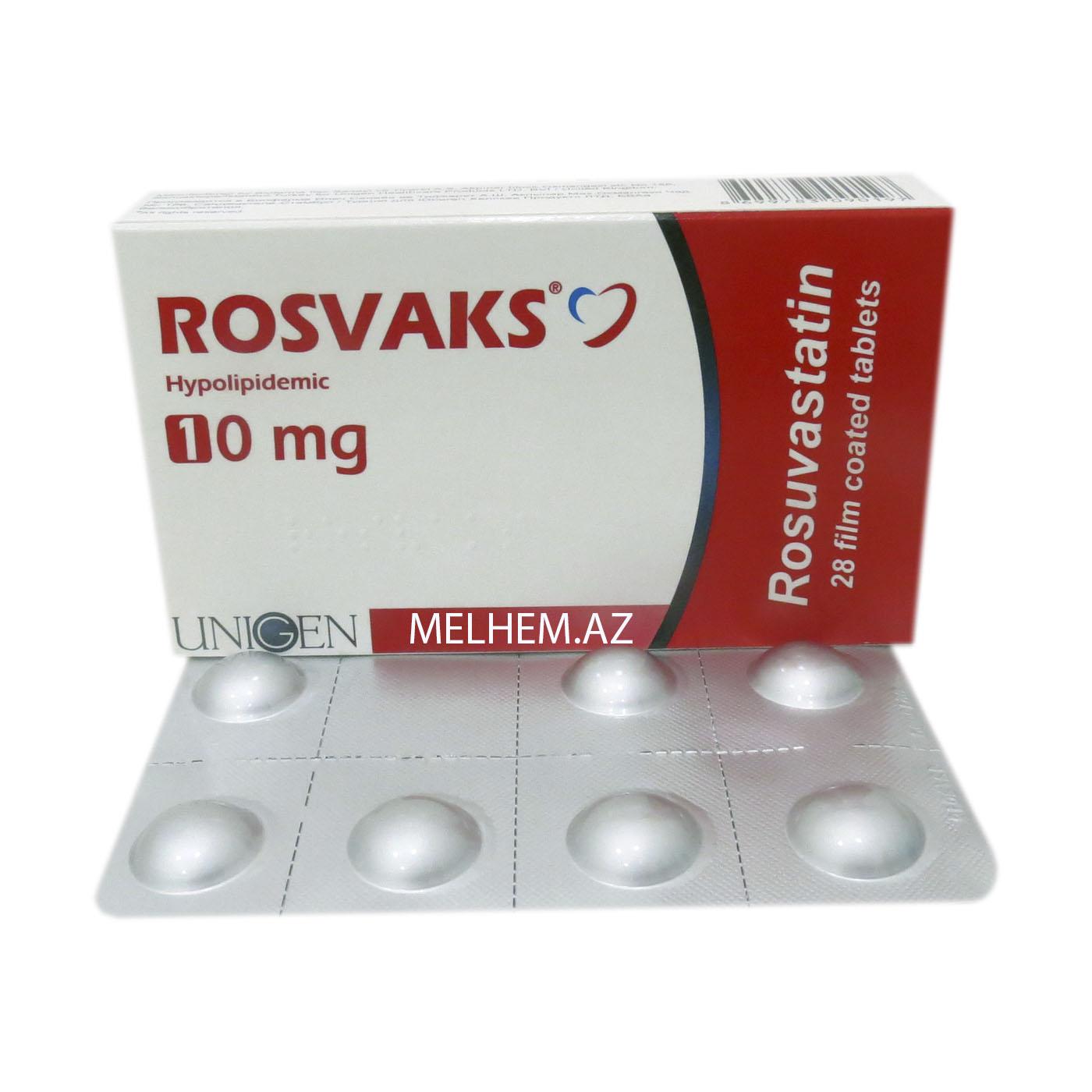 ROSVAKS 10 MG