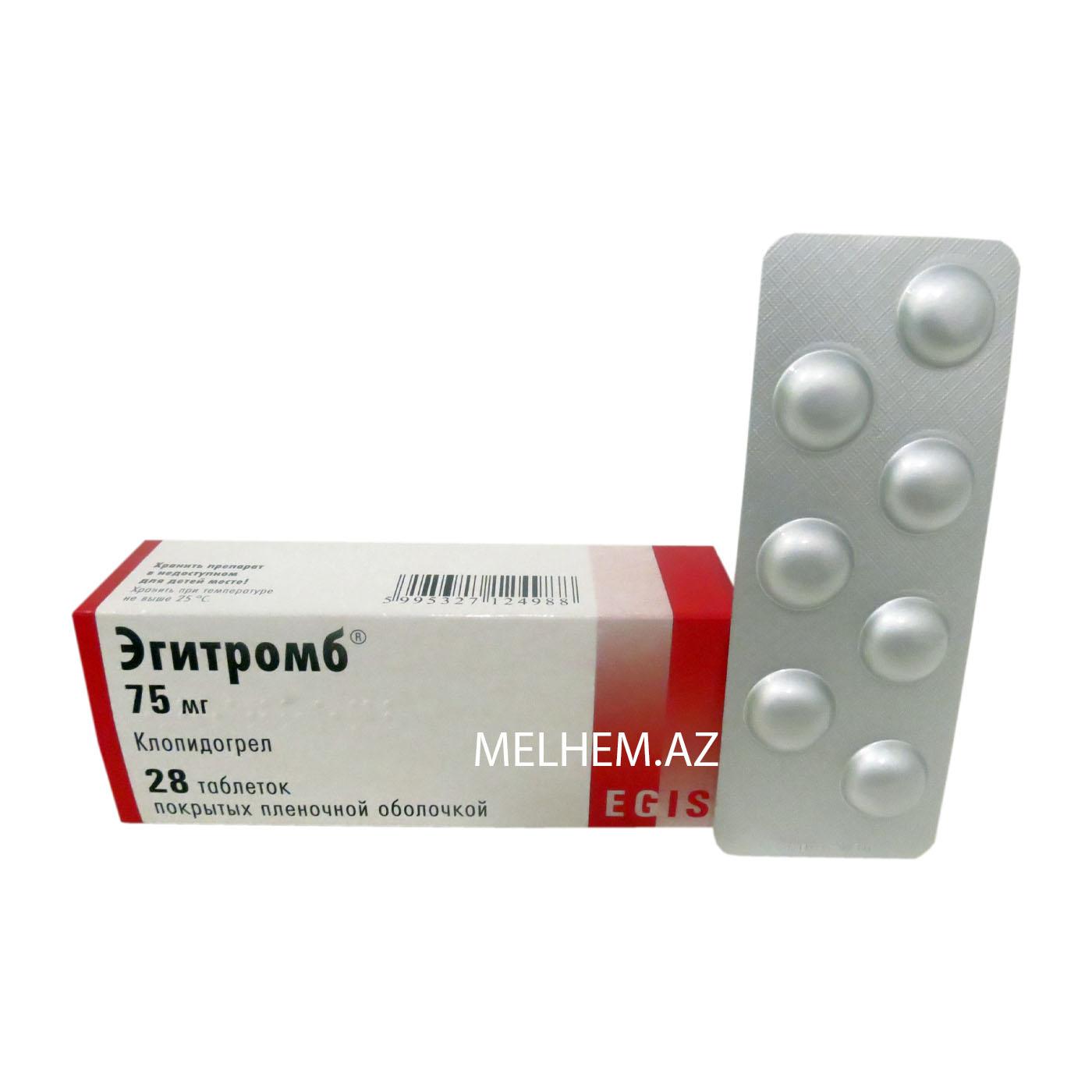 EGİTROMB 75 mg