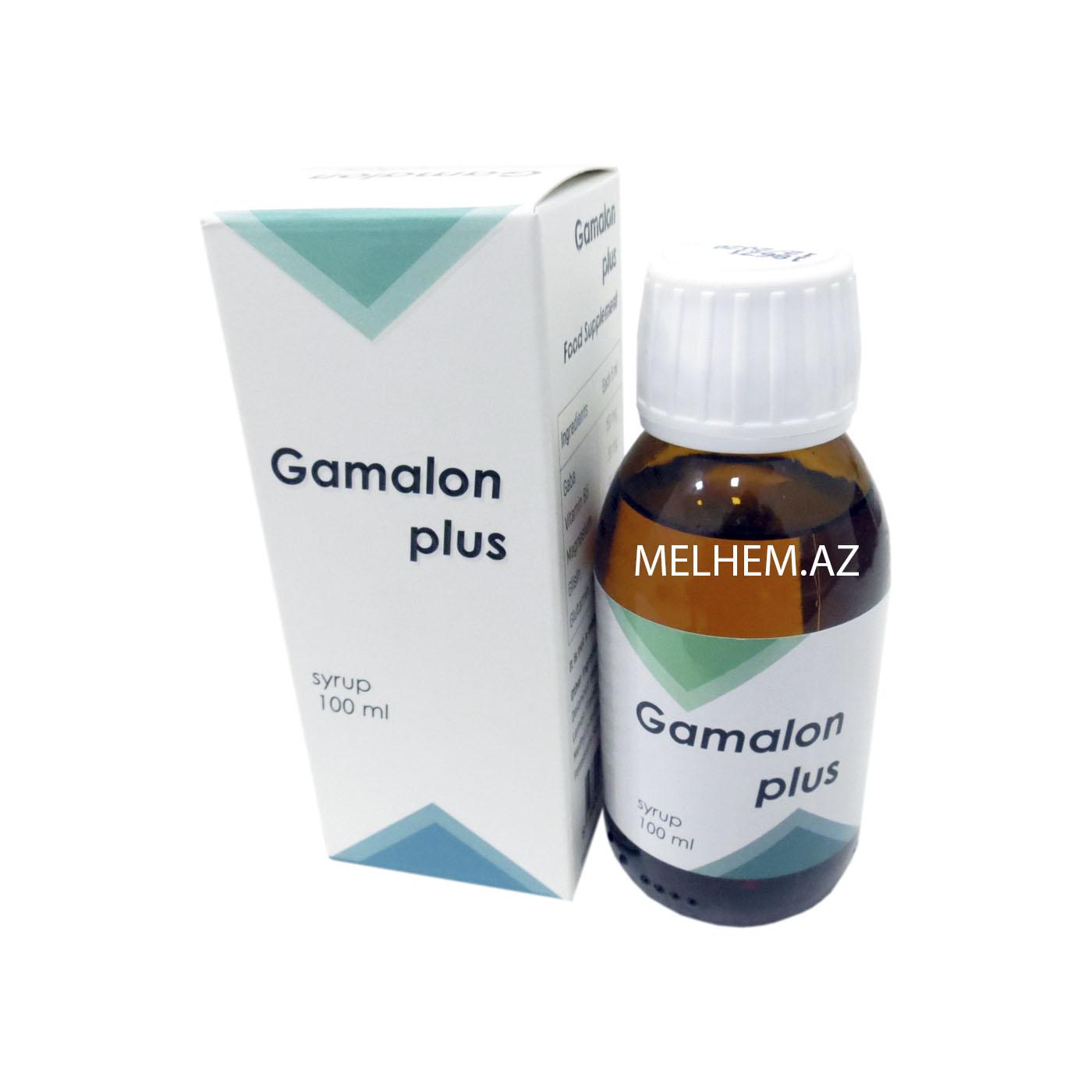GAMALON PLUS 100 ML (SİROP)