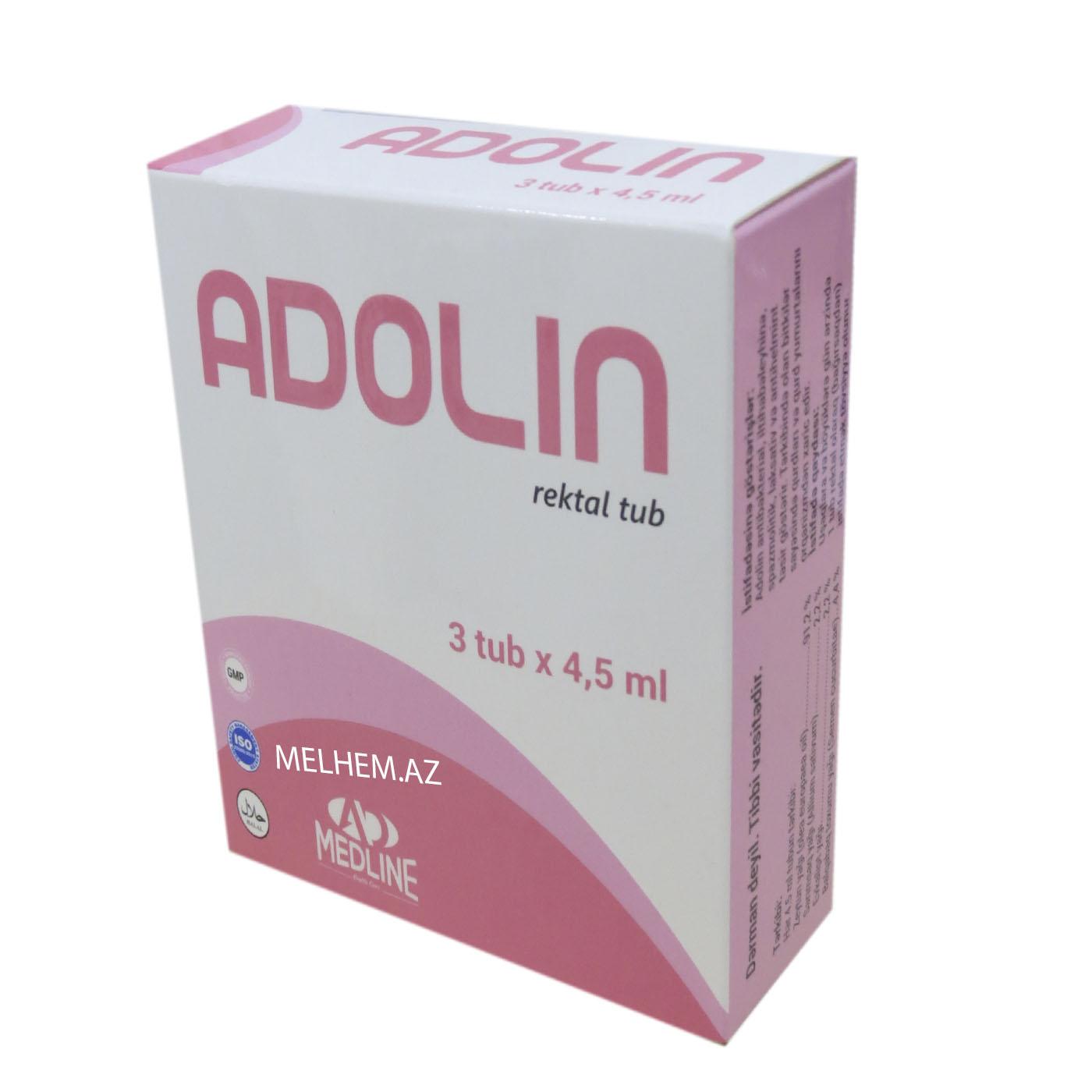 ADOLİN 3 TUB/4.5 ML
