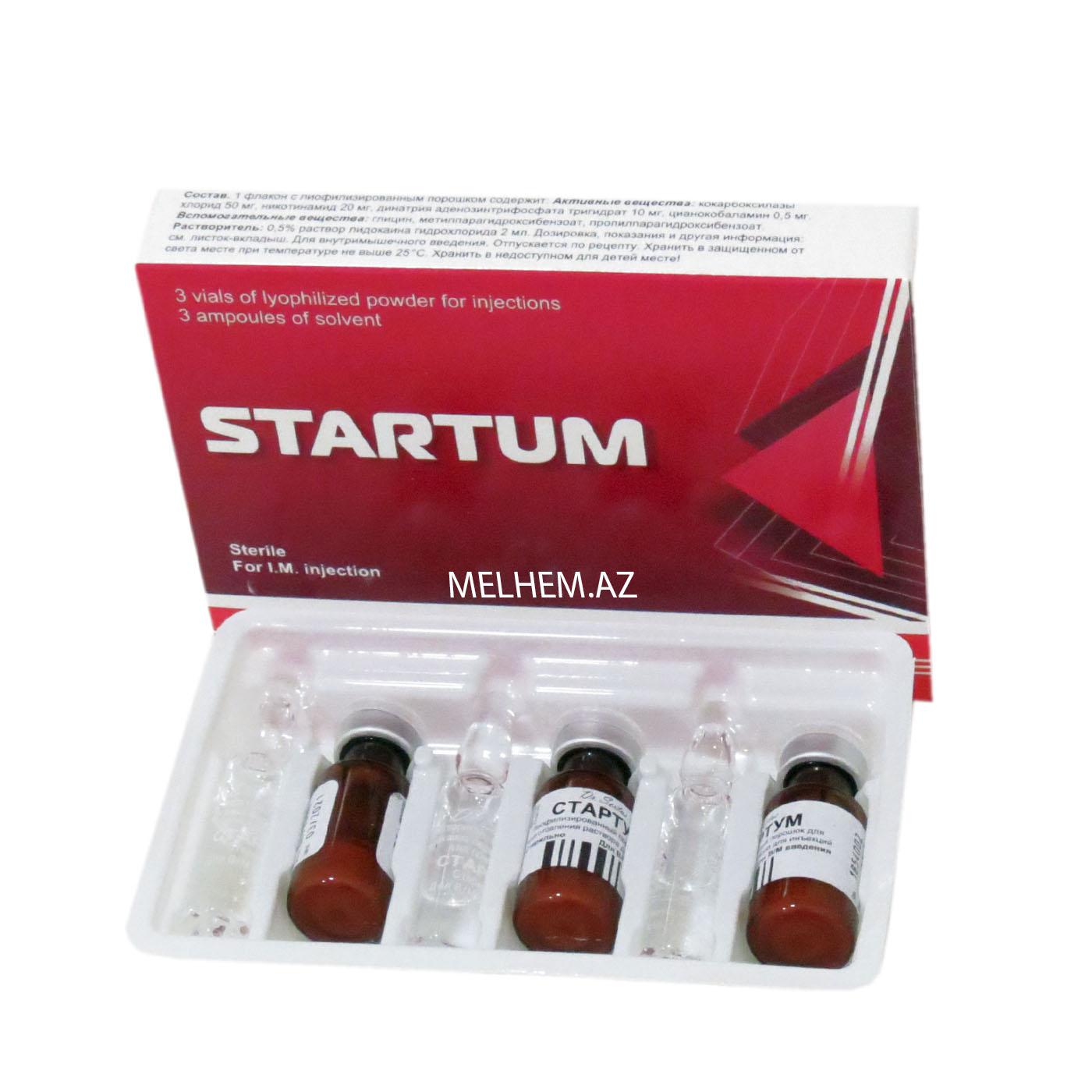 STARTUM N3 (inyeksiya üçün toz + məhlul)
