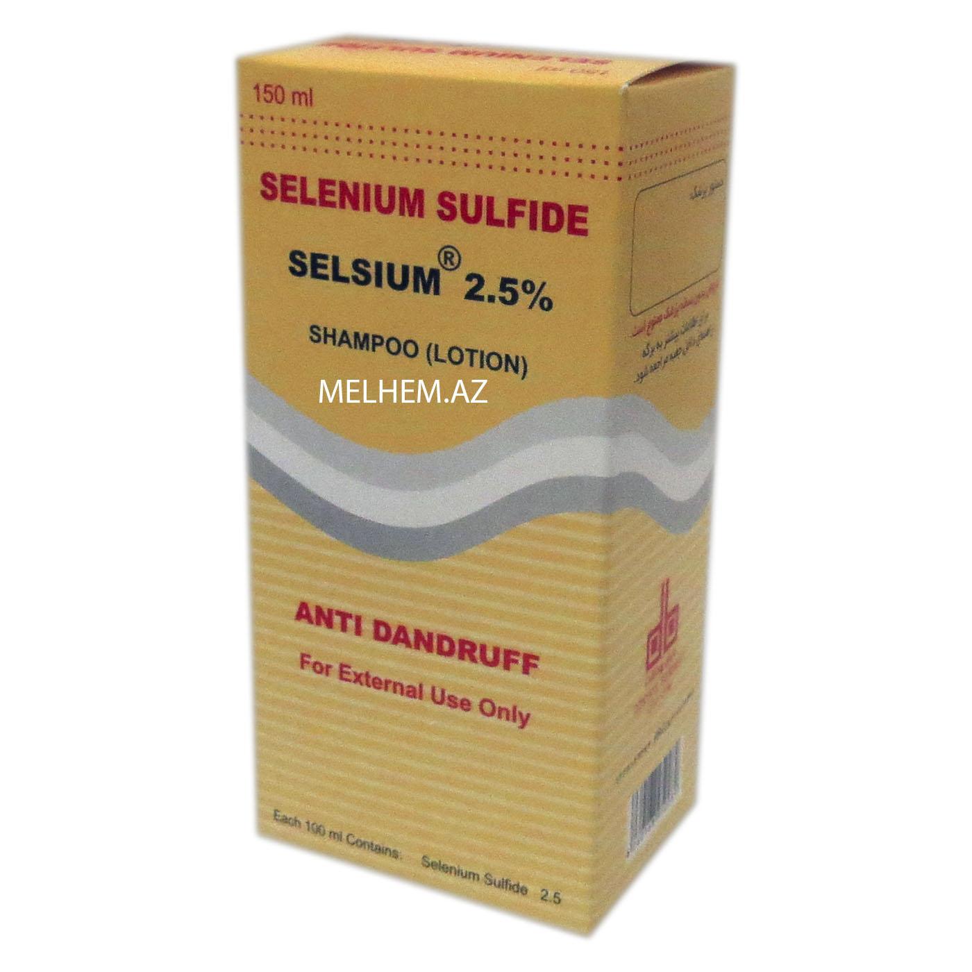 SELENIUM SULFID 2.5% ( ŞAMPUN )