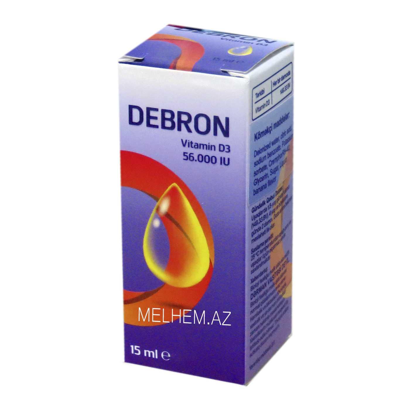DEBRON 15ML