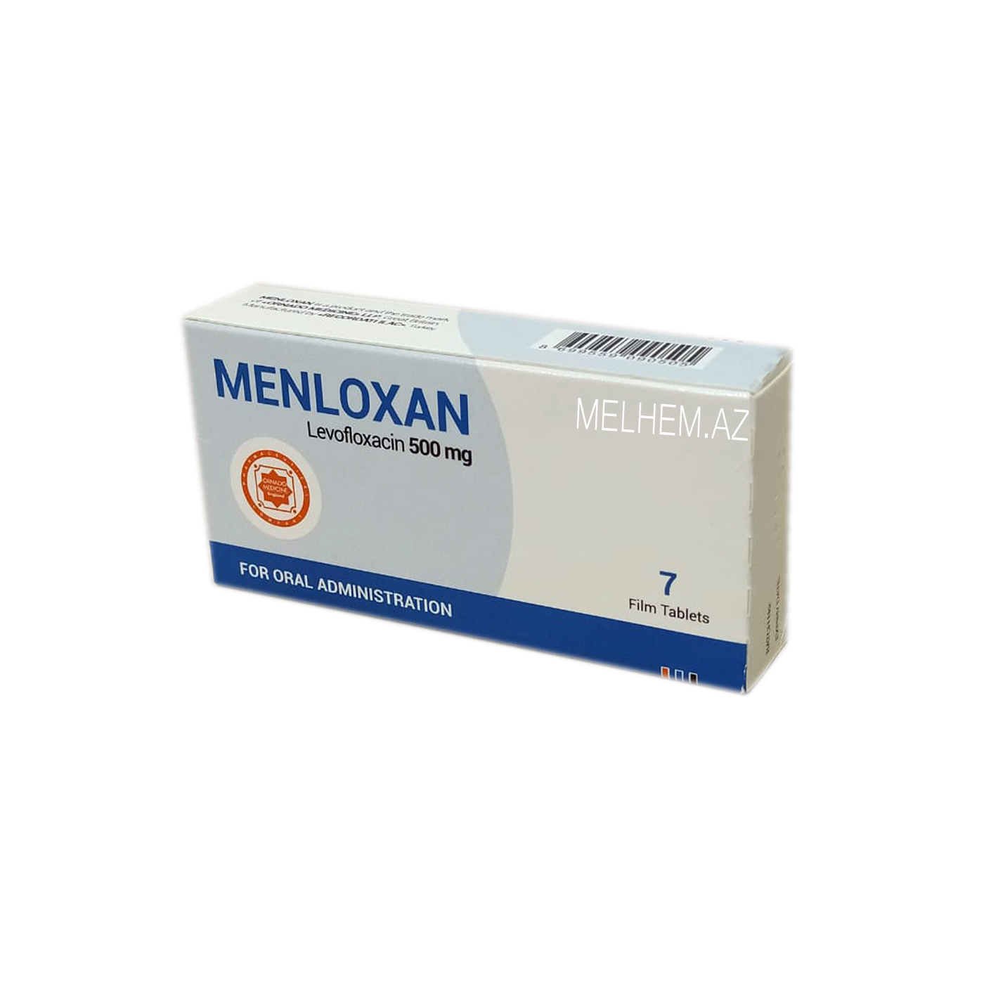 MENLOXAN 500MG N7