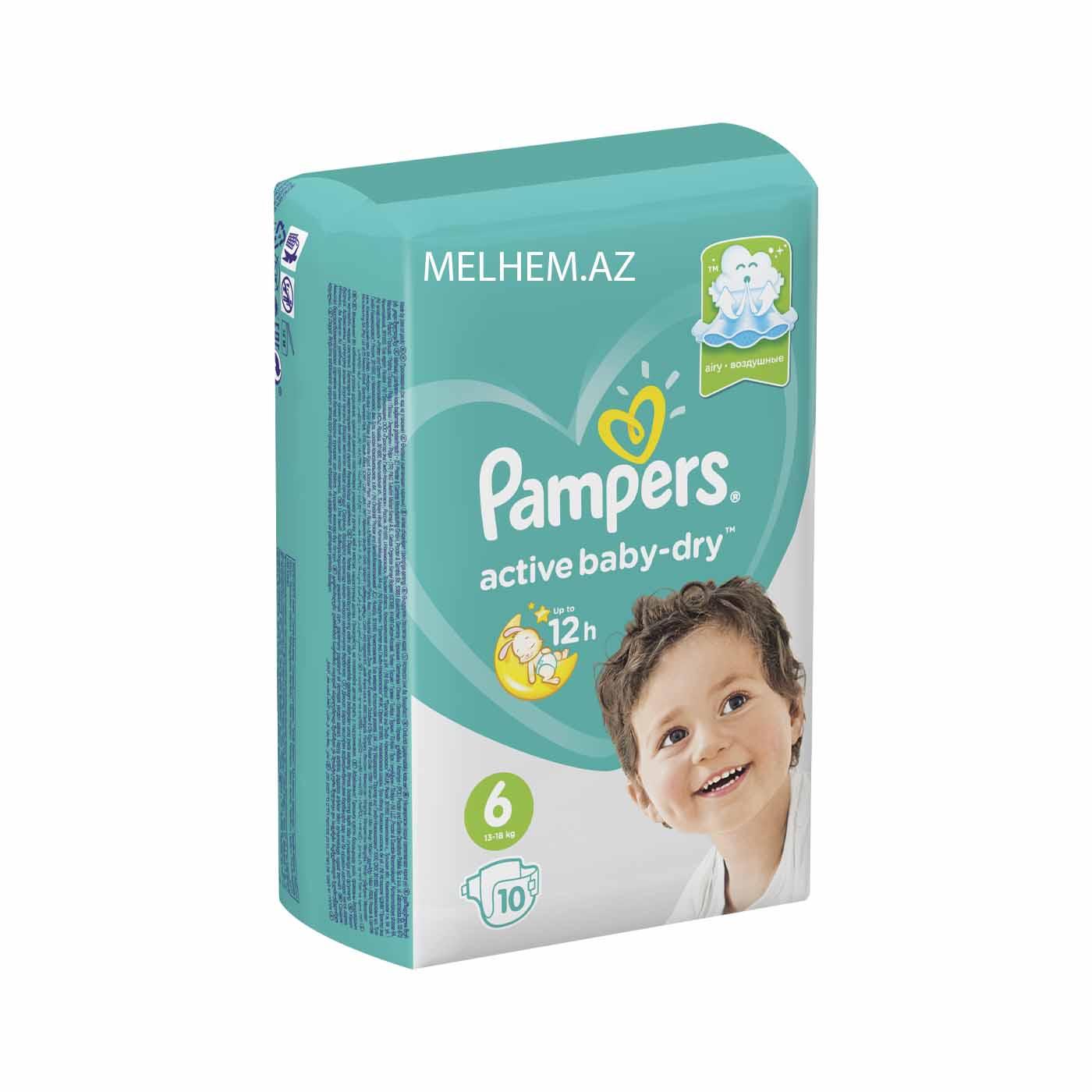 PAMPERS N6 (10 DƏNƏLİ)