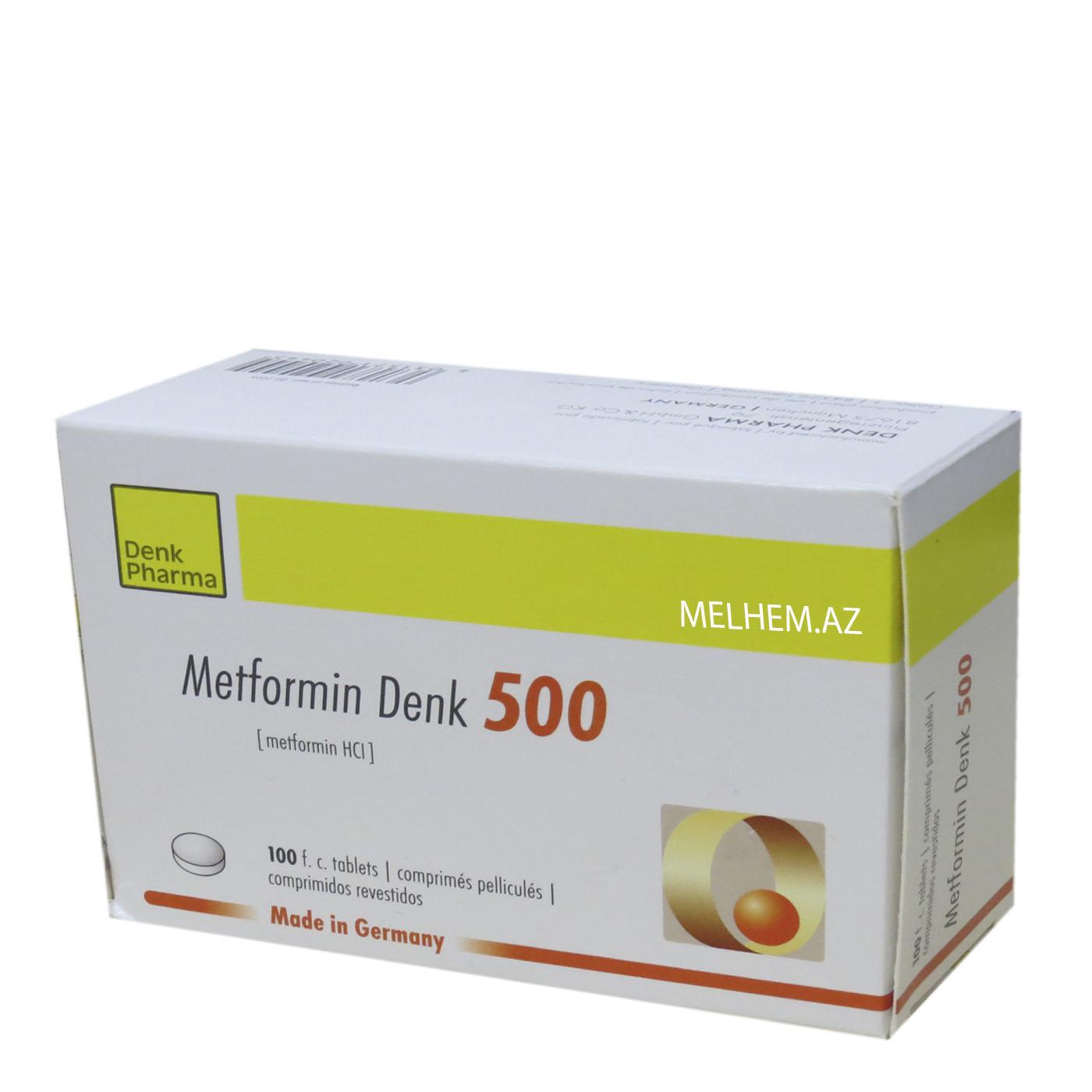 METFORMİN DENK 500