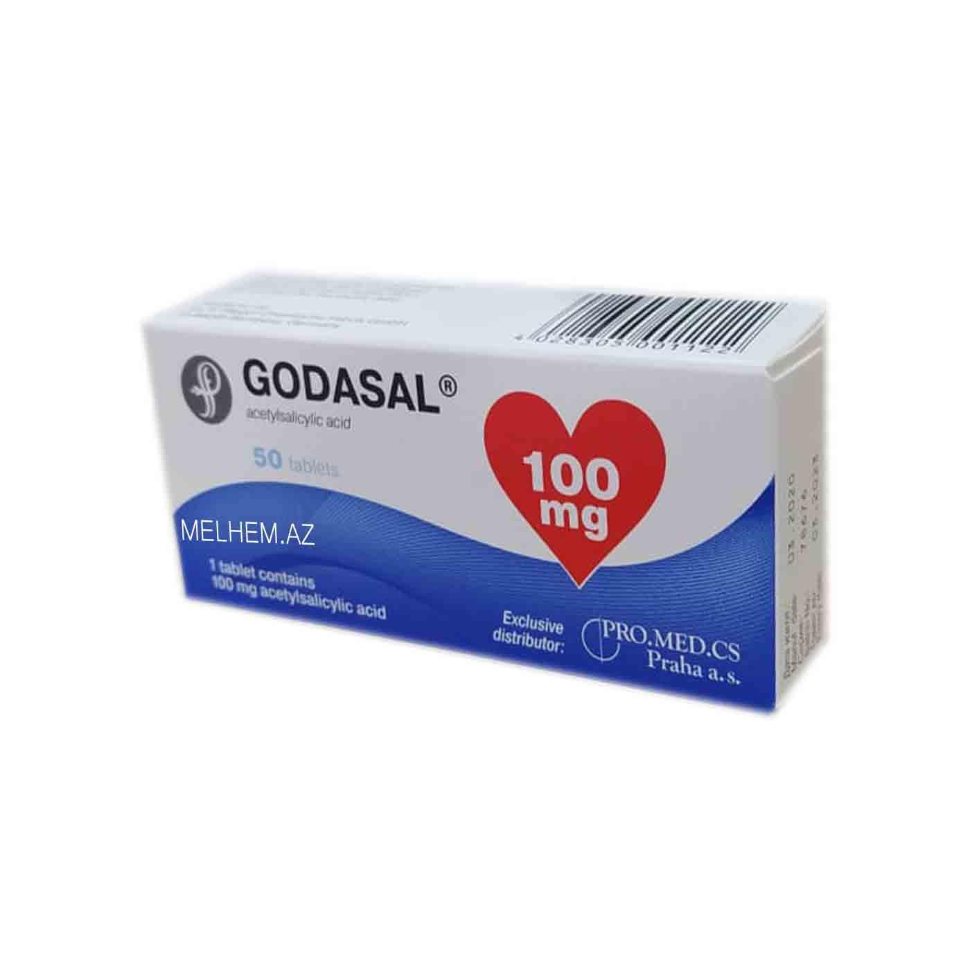 GODASAL 100MG N50