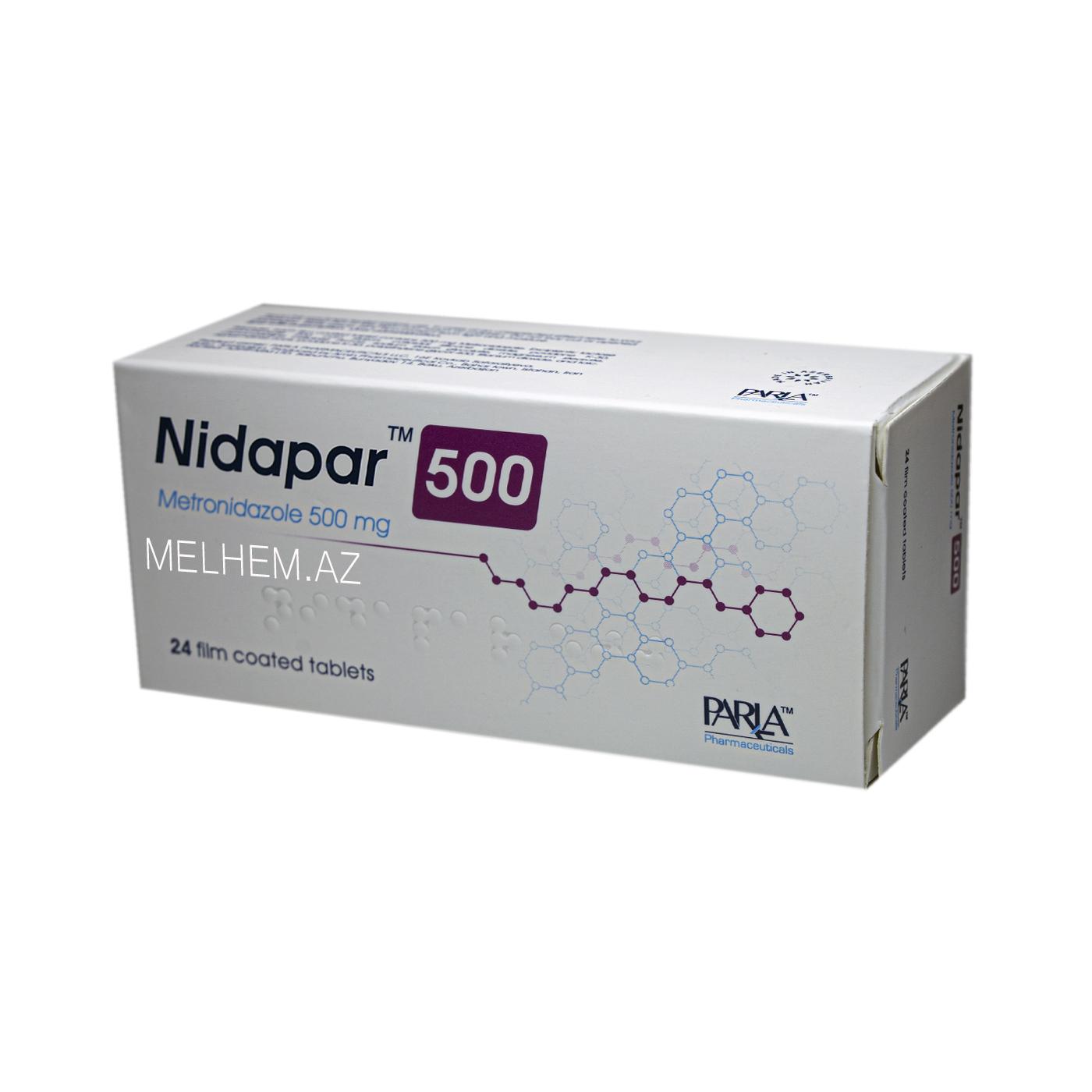 NİDAPAR 500MG N24
