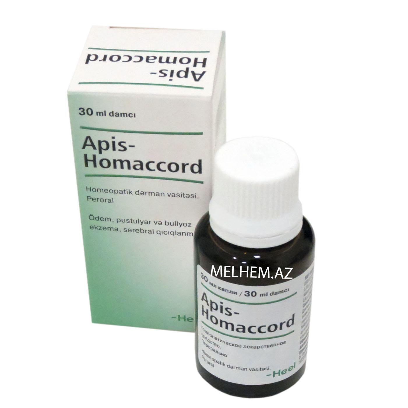 APİS-HOMACCORD 30 ML DAMCI