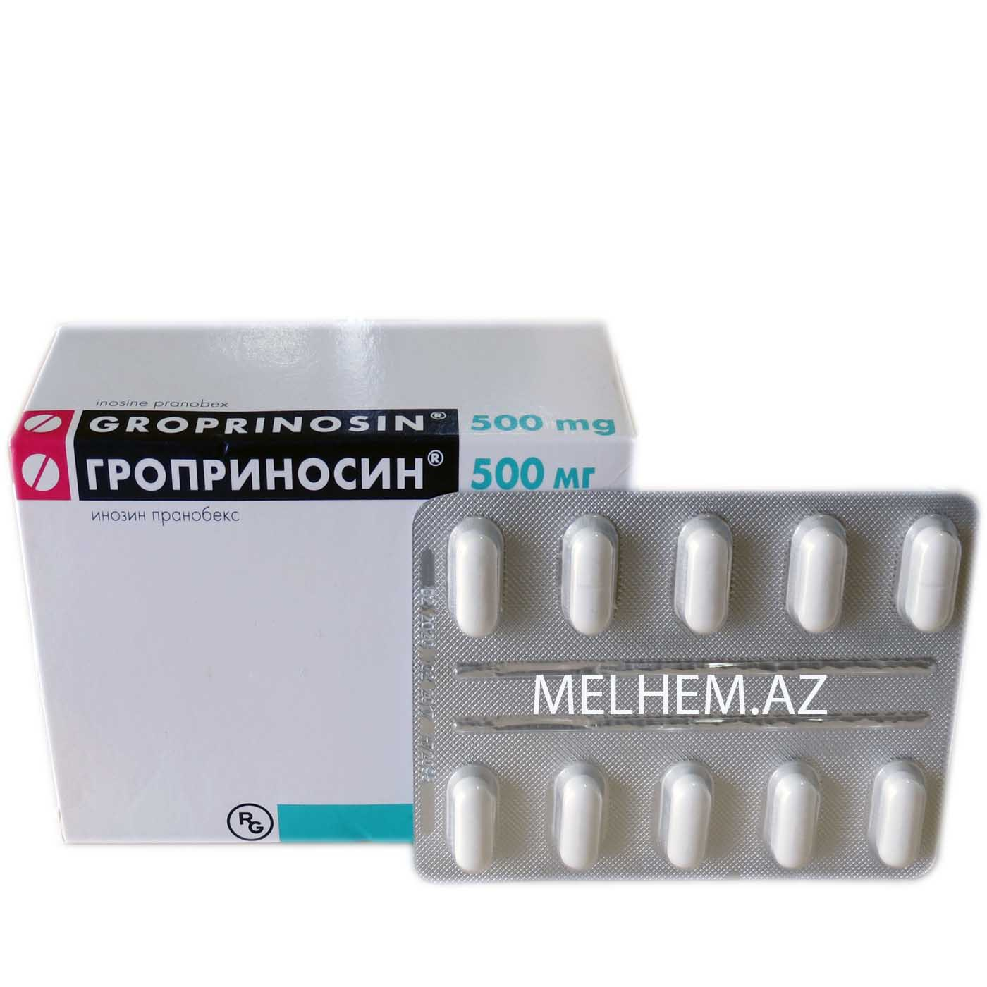QROPRINOSIN 500 MG