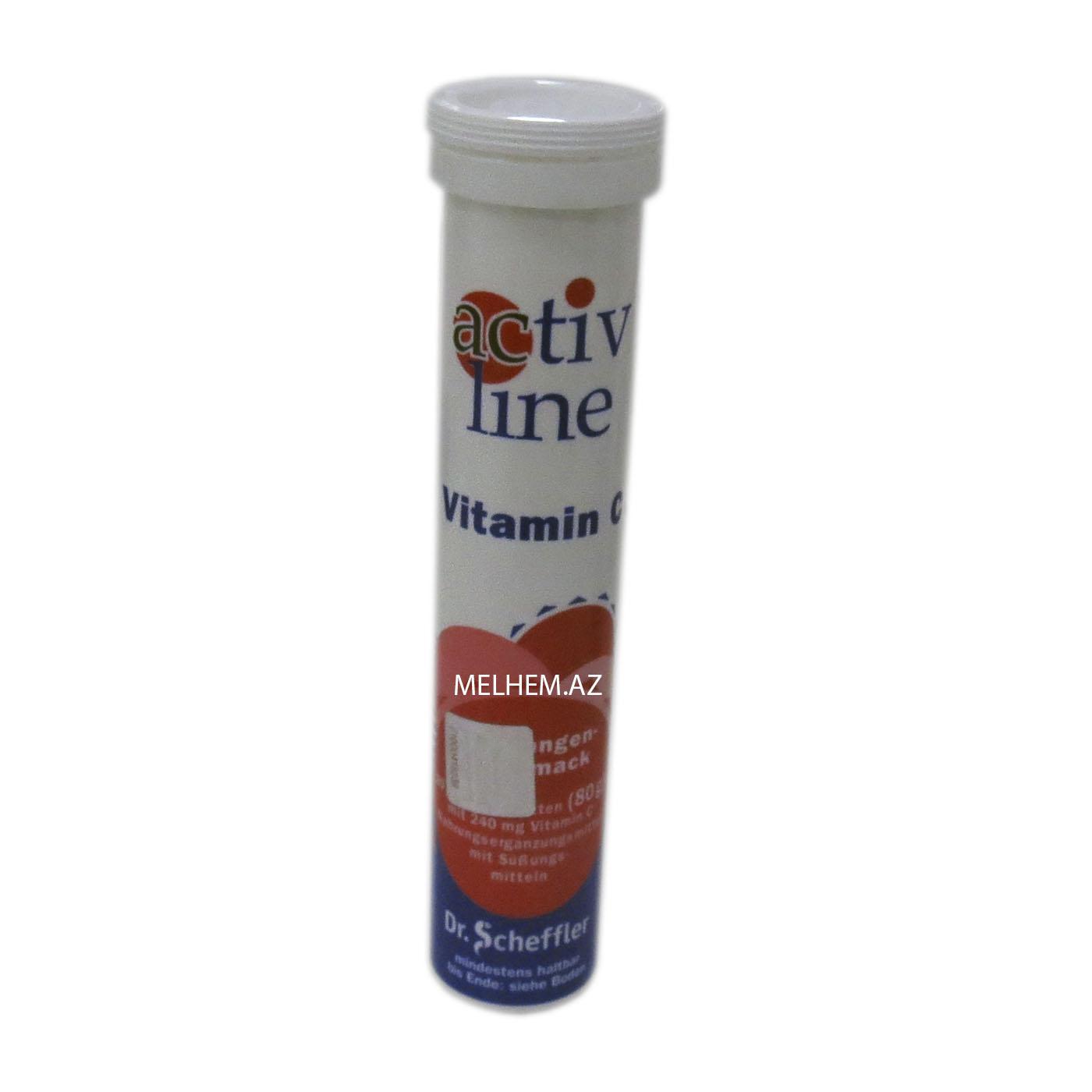 ACTIVE LINE ( VITAMIN C )