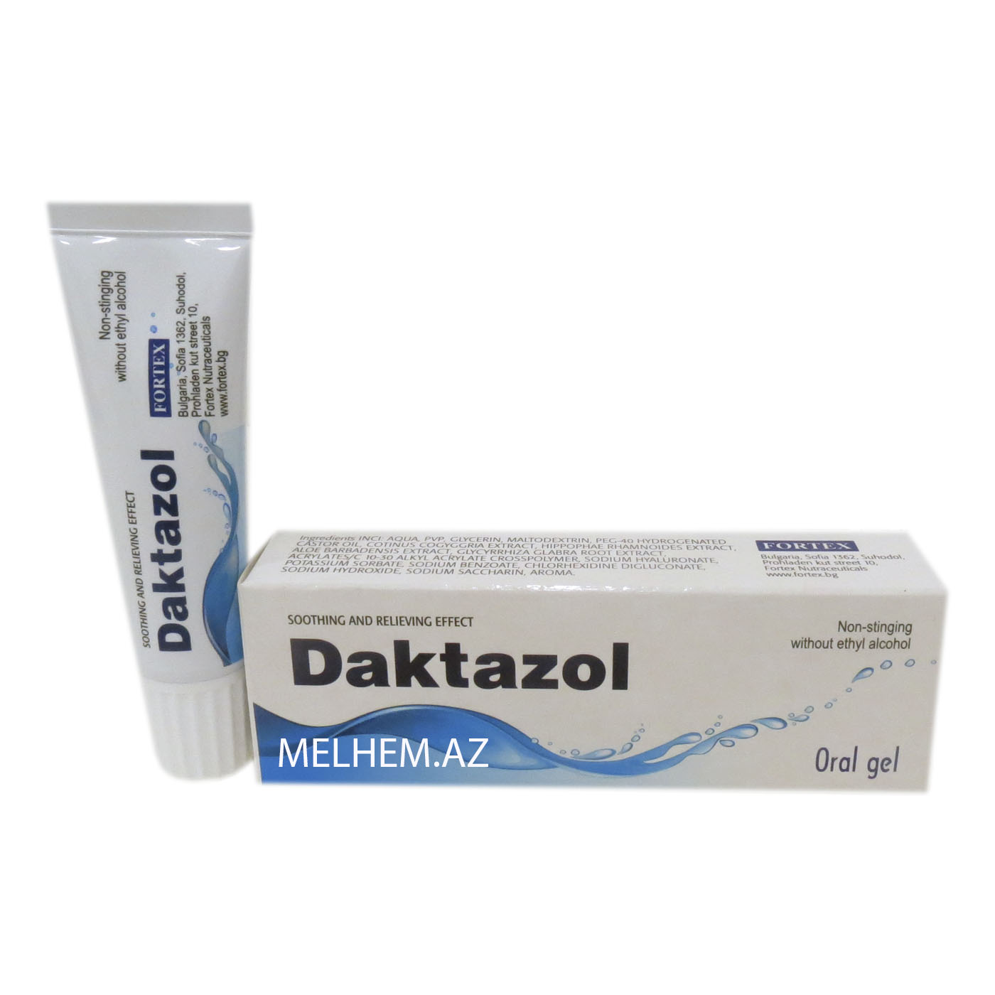 DAKTAZOL ORAL GEL
