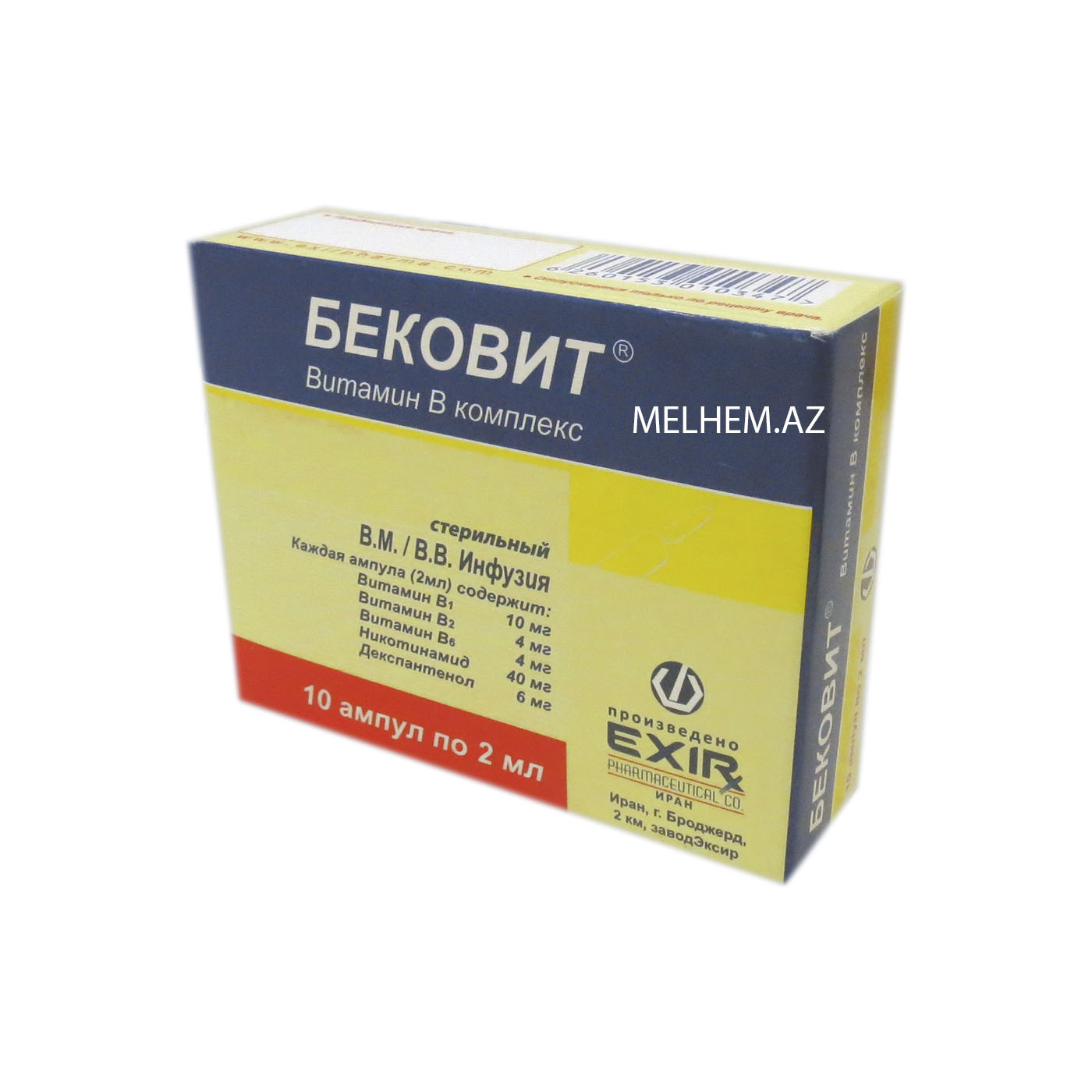 BECOVIT 2 ML