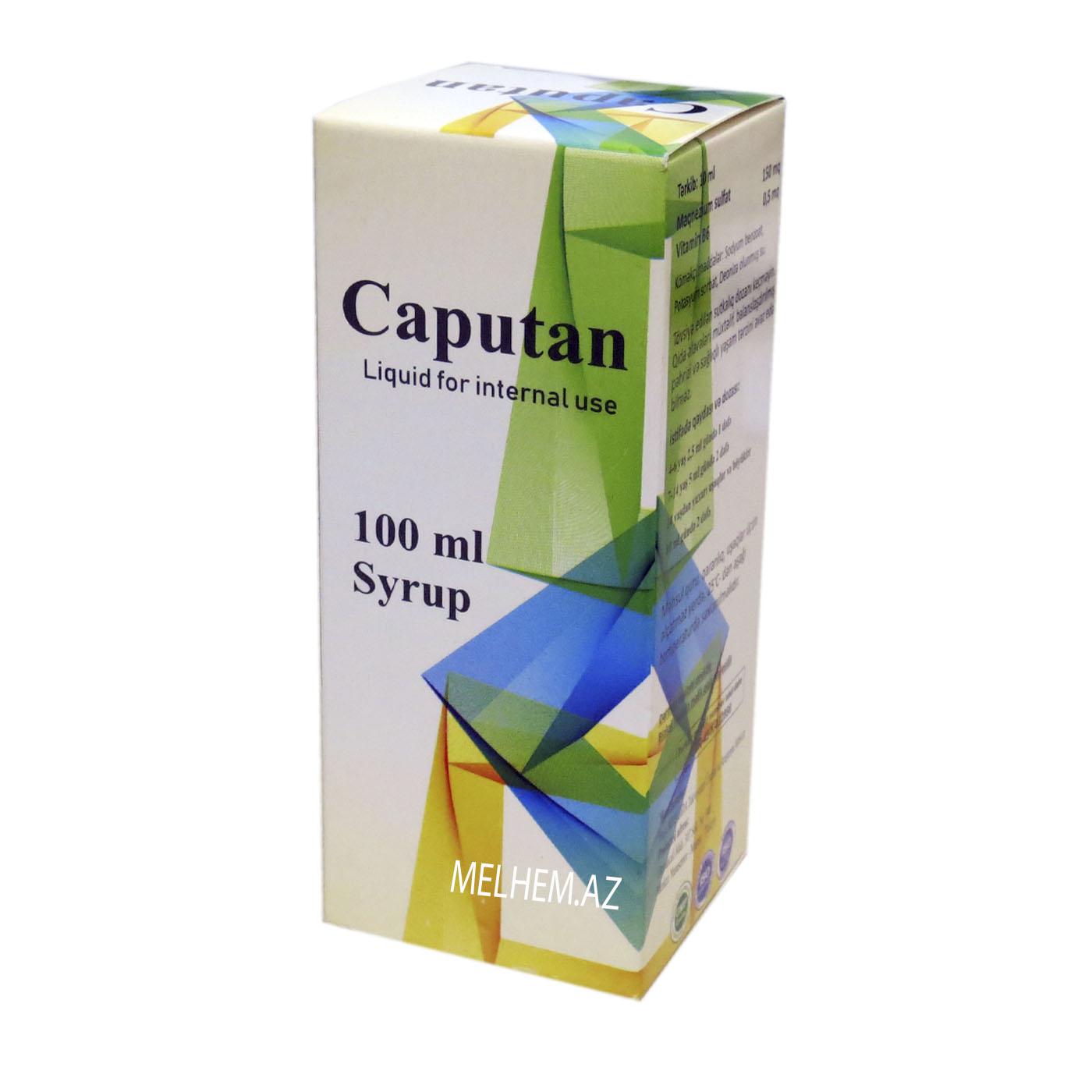CAPUTAN 100 ML SİROP