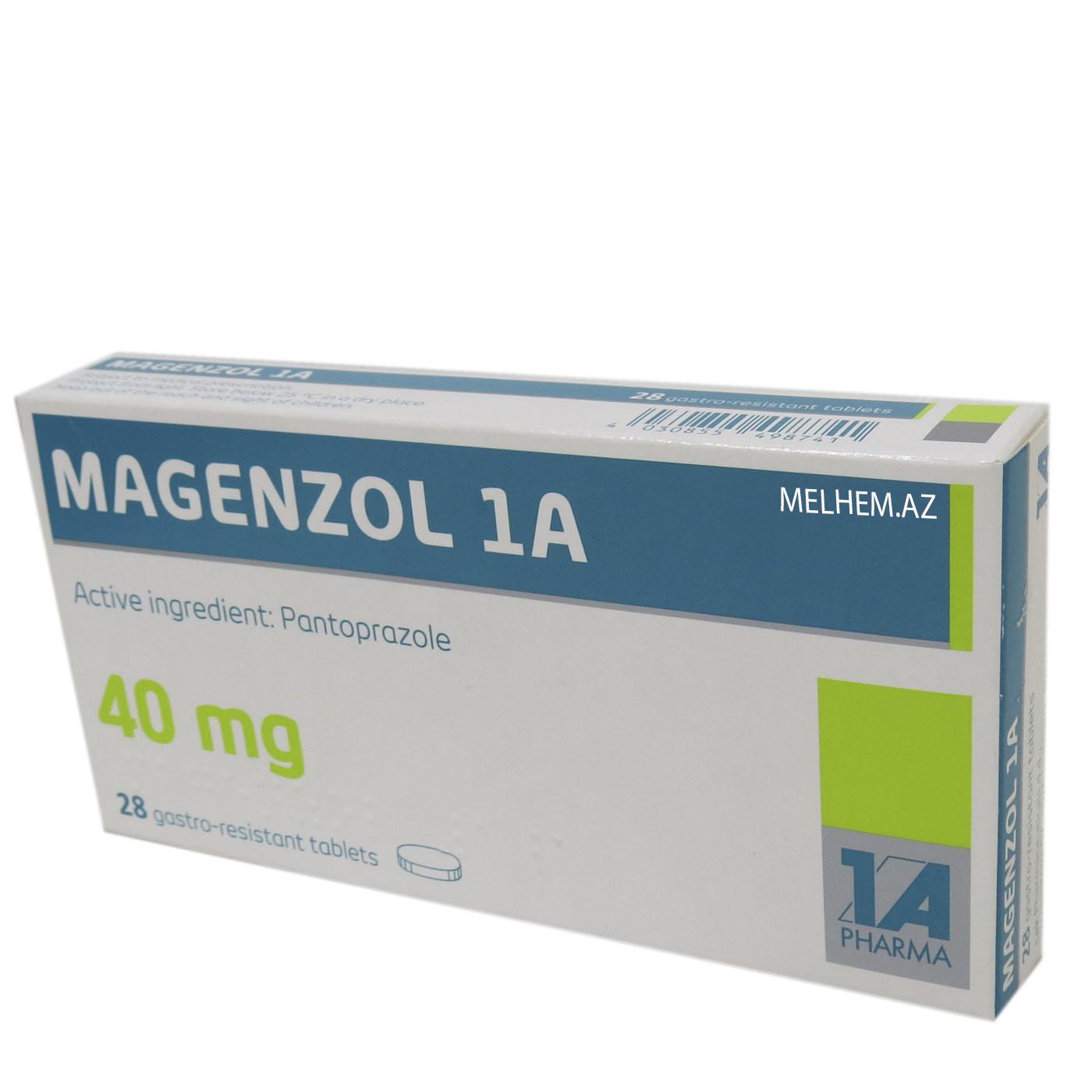 MAGENZOL 1A 40MG N28