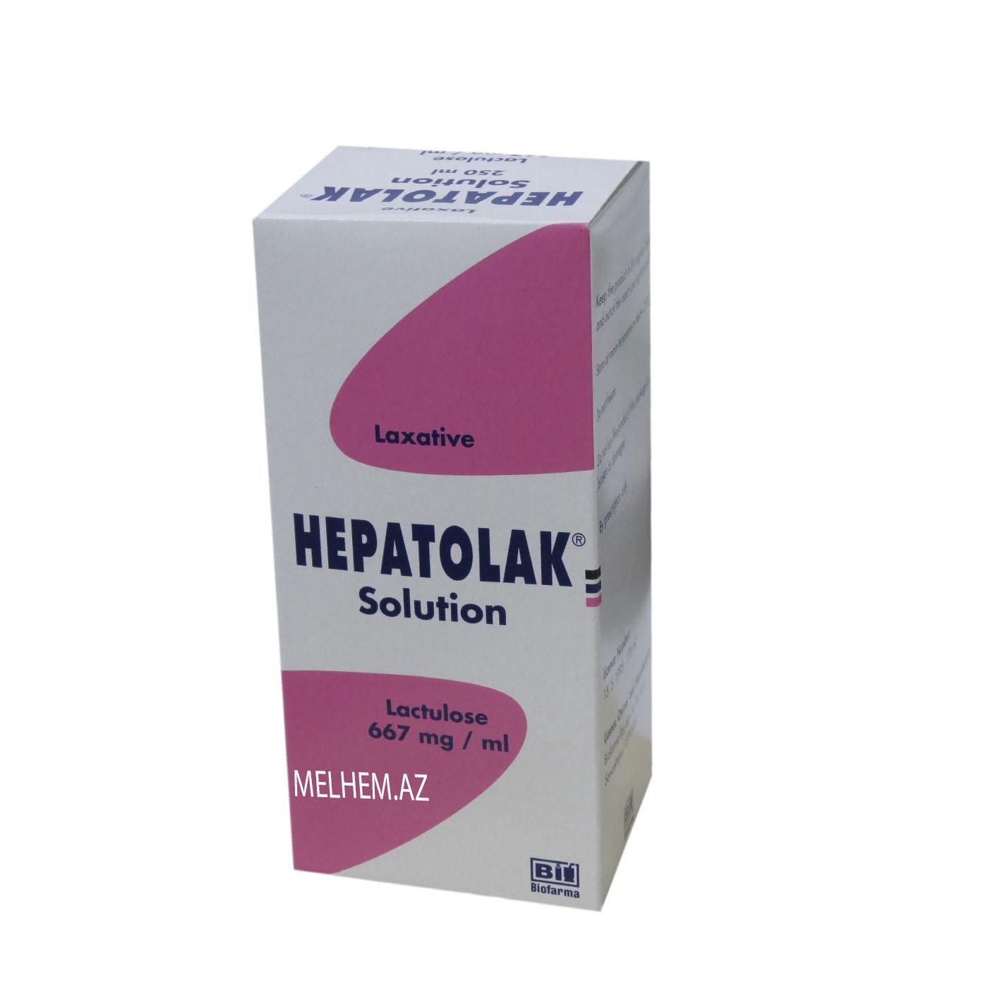 HEPATOLAK 667MG/ML