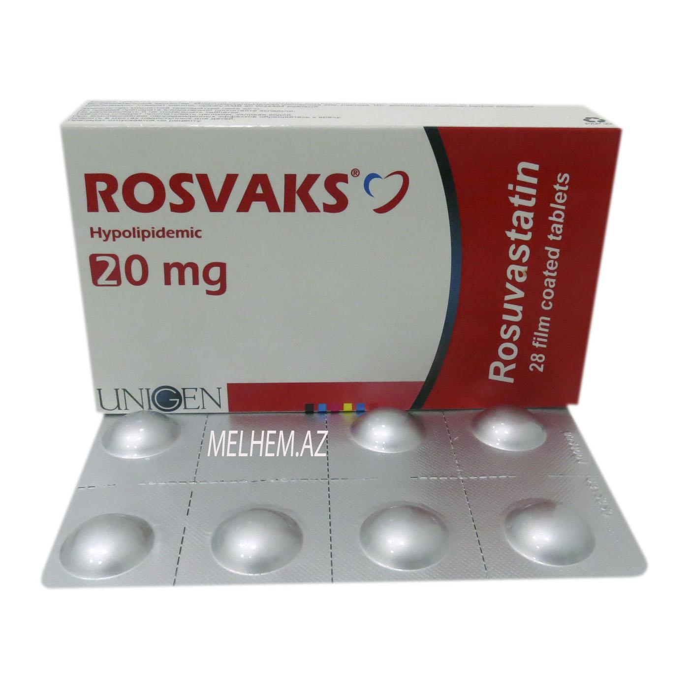 ROSVAKS 20 MG