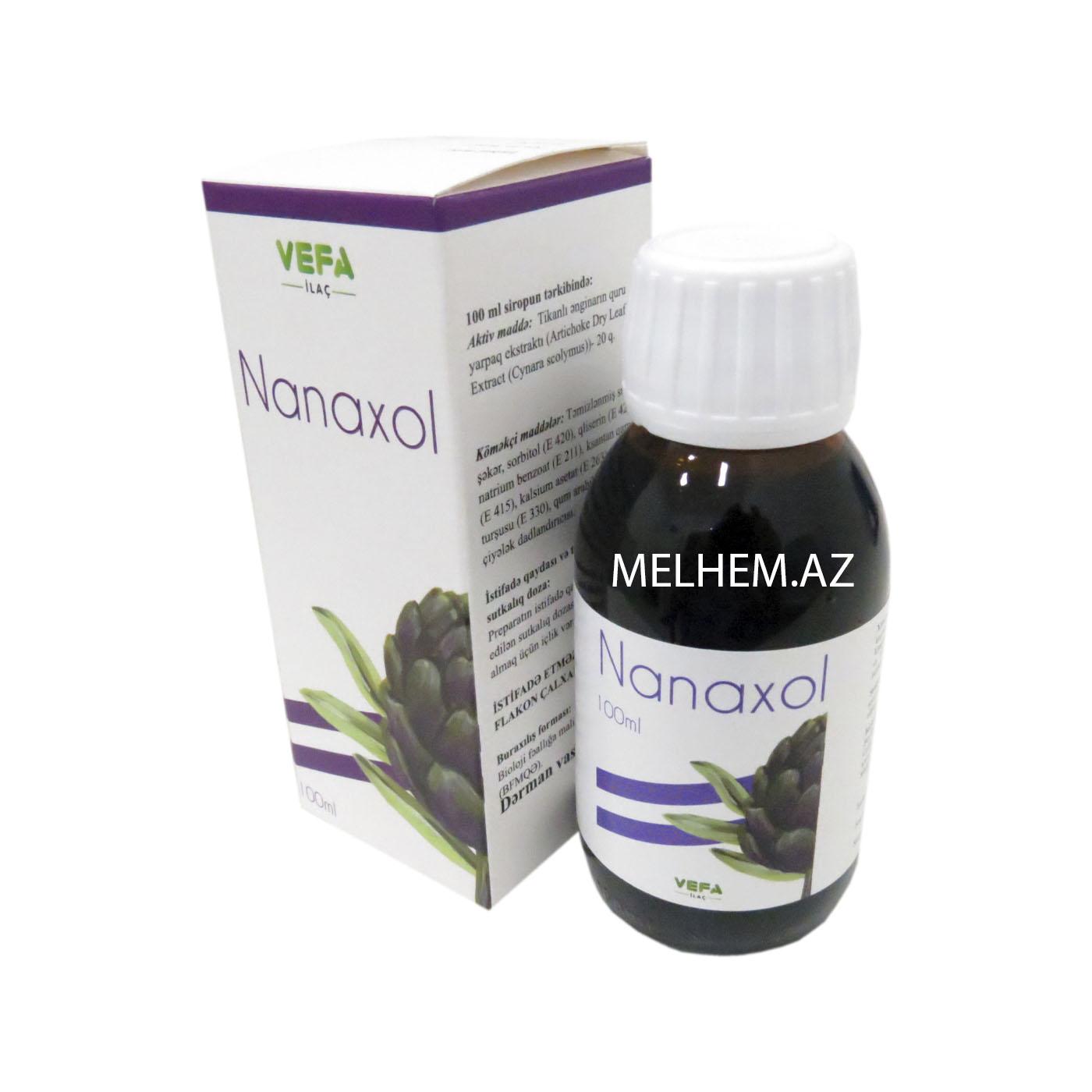NANAXOL 100 ML (SİROP)