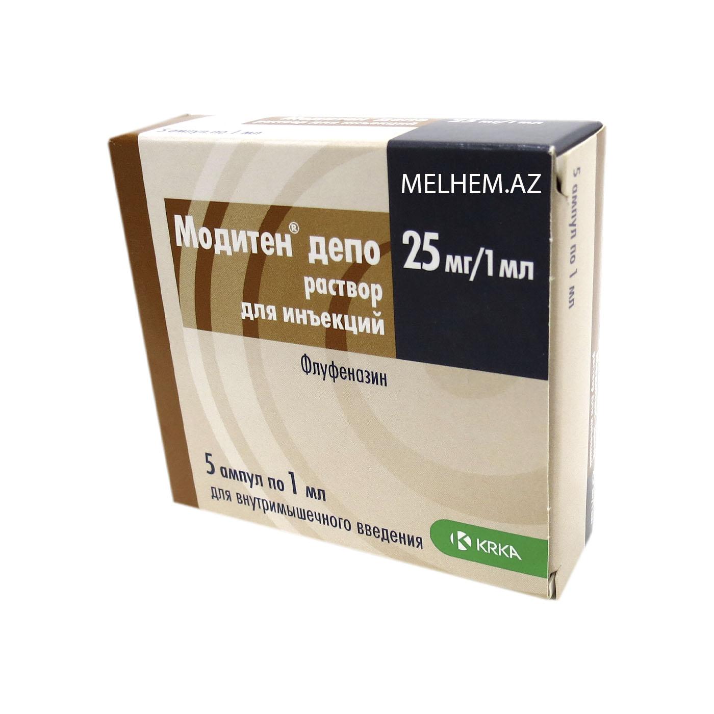 MODİTEN DEPO 25 MQ/1 ML N5 (AMPUL)
