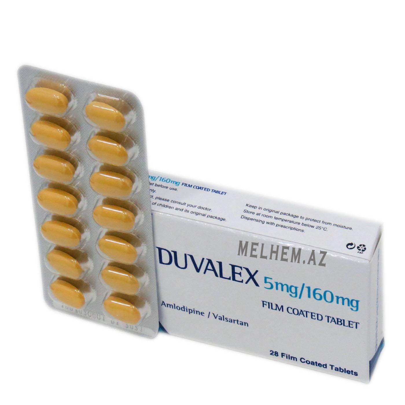 DUVALEX 5MG/160MG