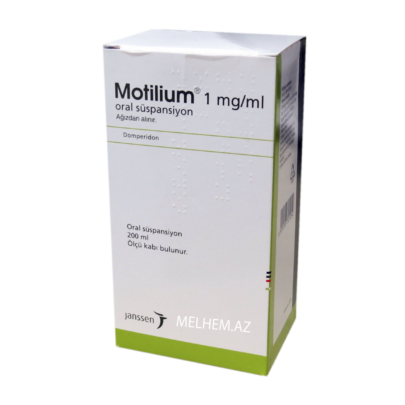 MOTİLİUM 1MQ/ML 200 ML