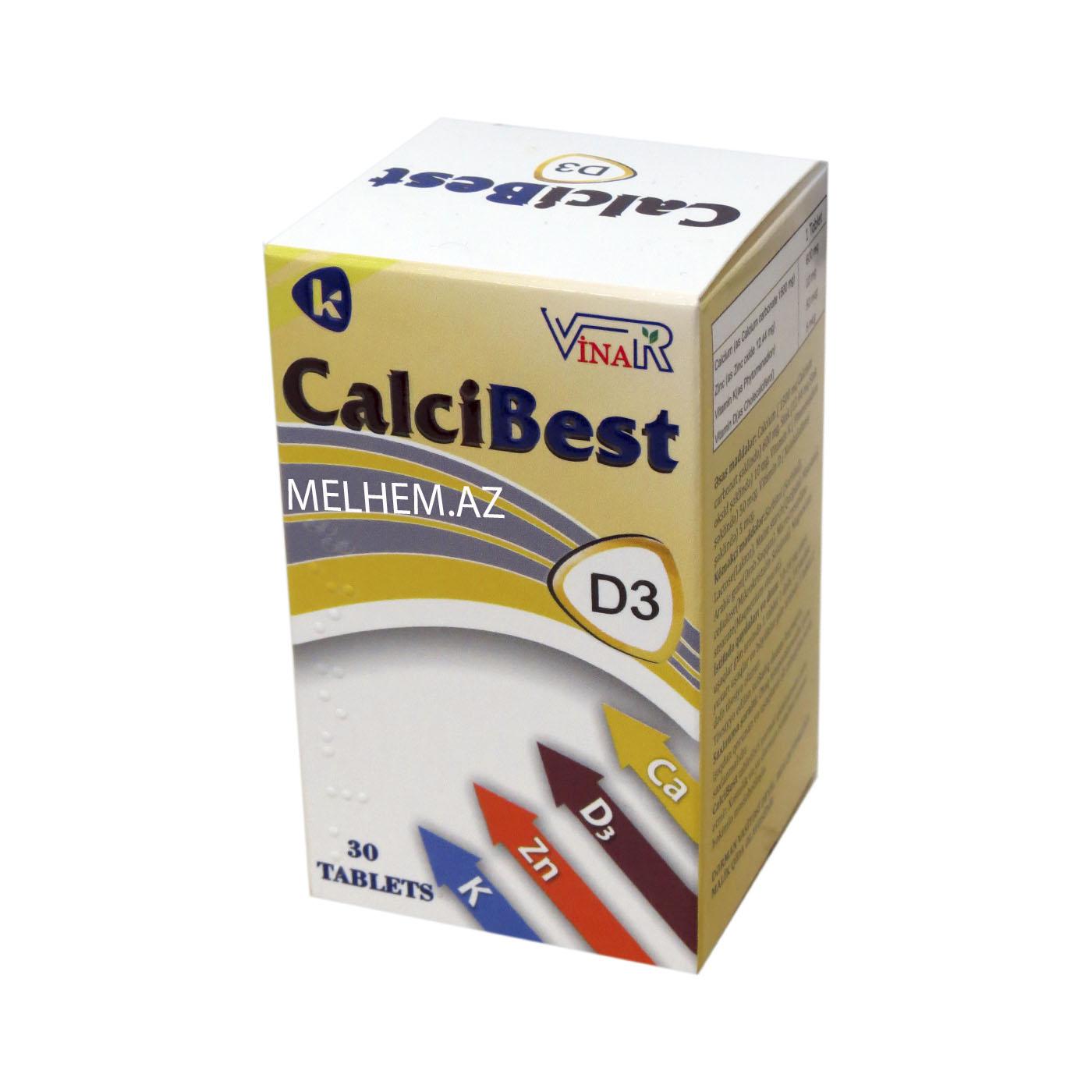 CALSİBEST - KALSİBEST D3 N30