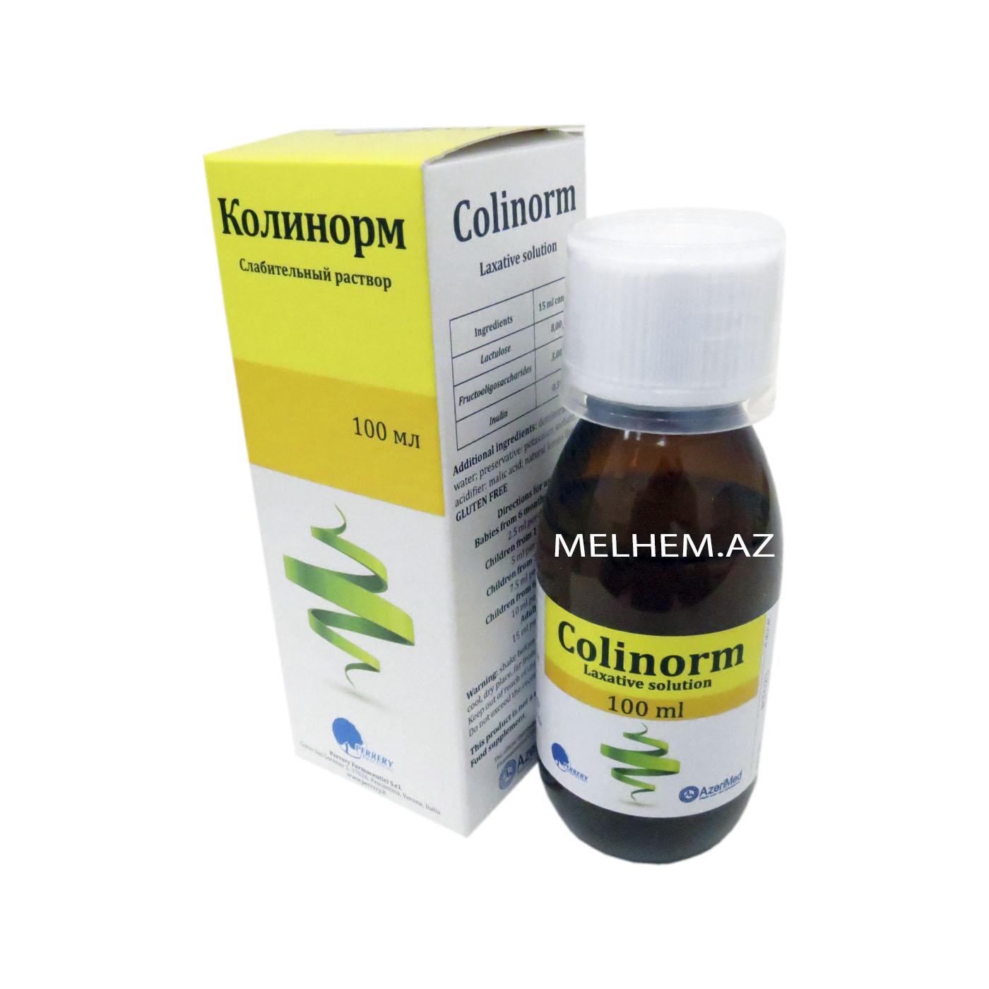 COLİNORM 100 ML