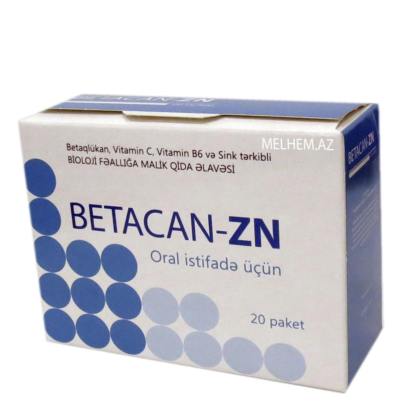 BETACAN-ZN N20 (PAKET)