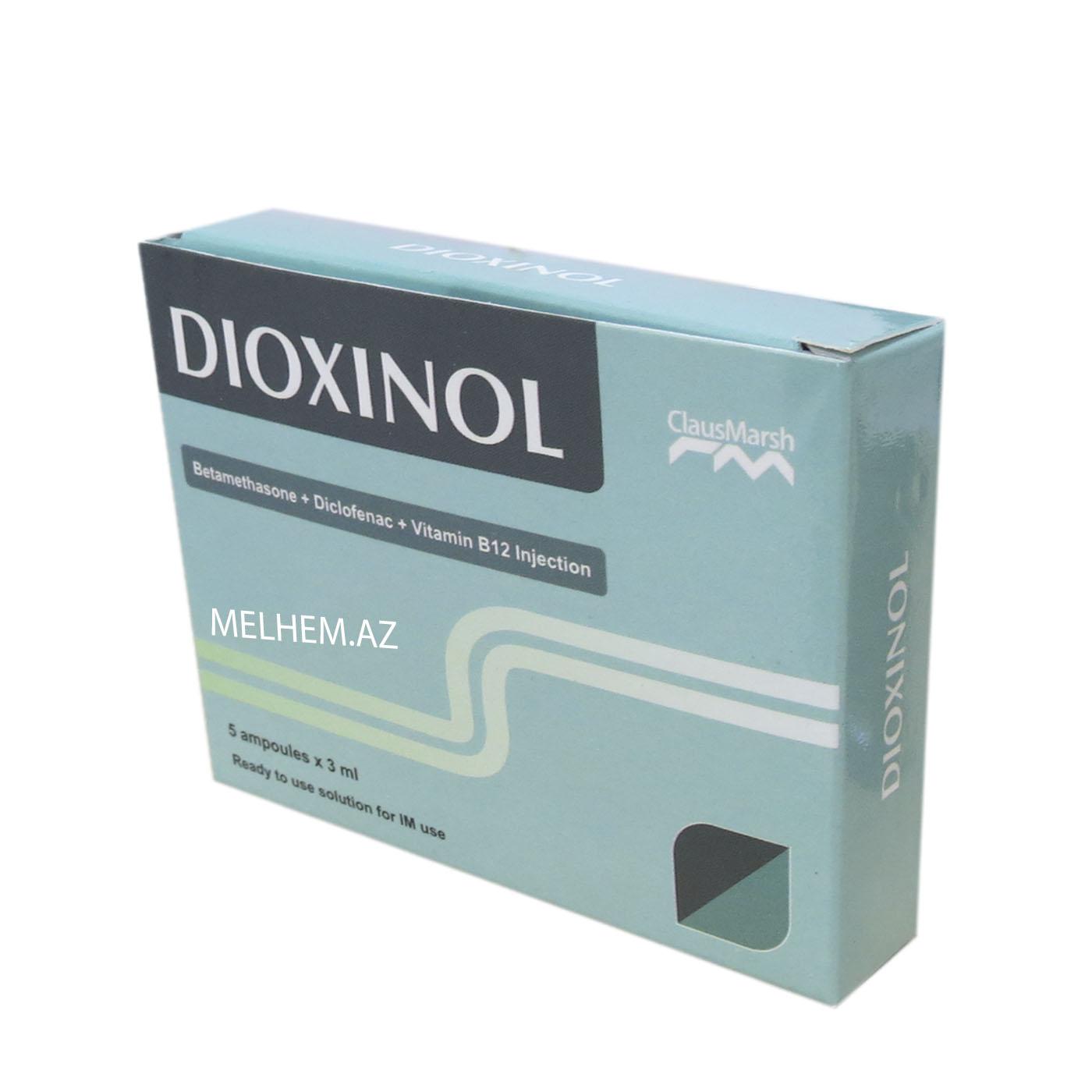 DİOXİNOL 3ML N5 (AMPULA)
