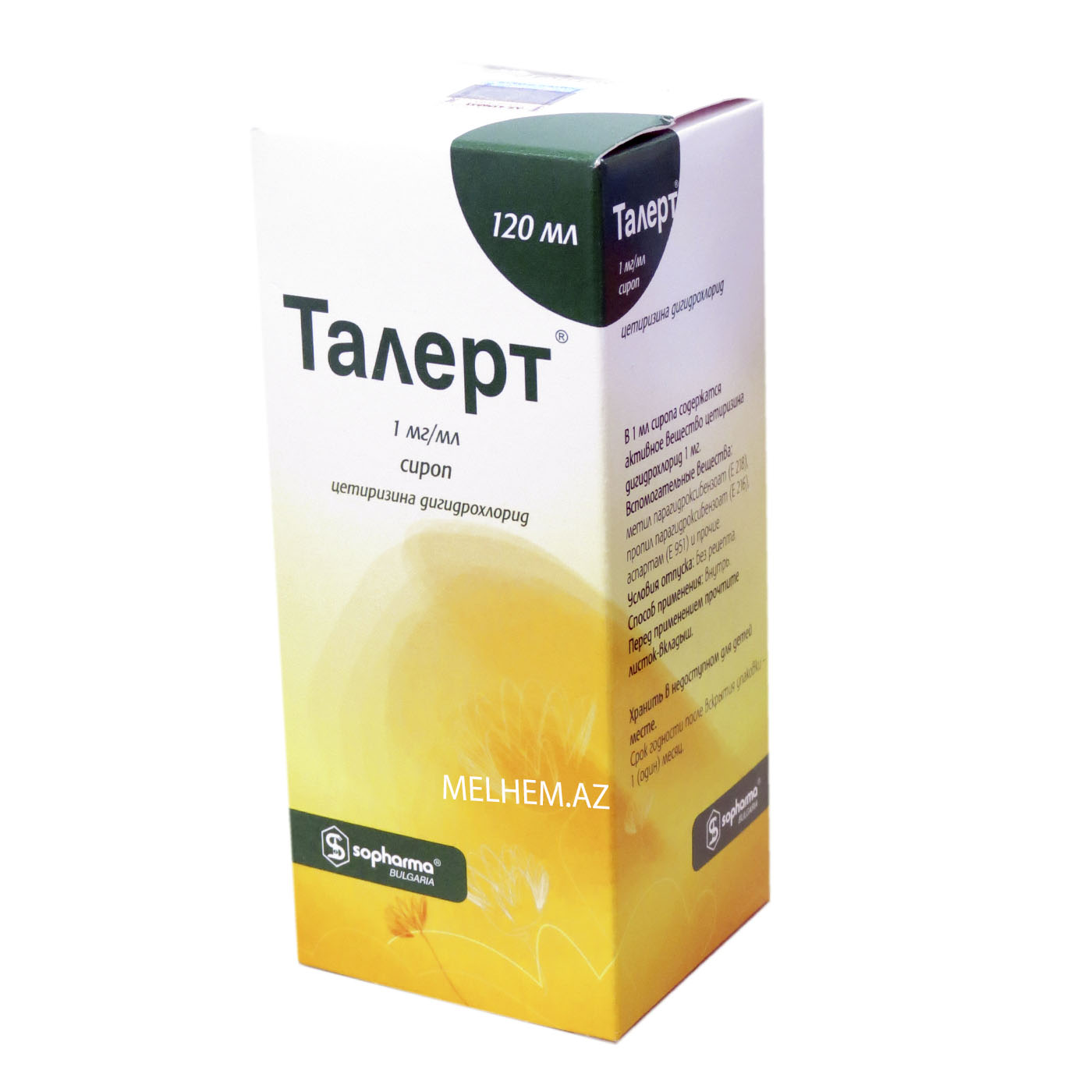 TALERT 120ML