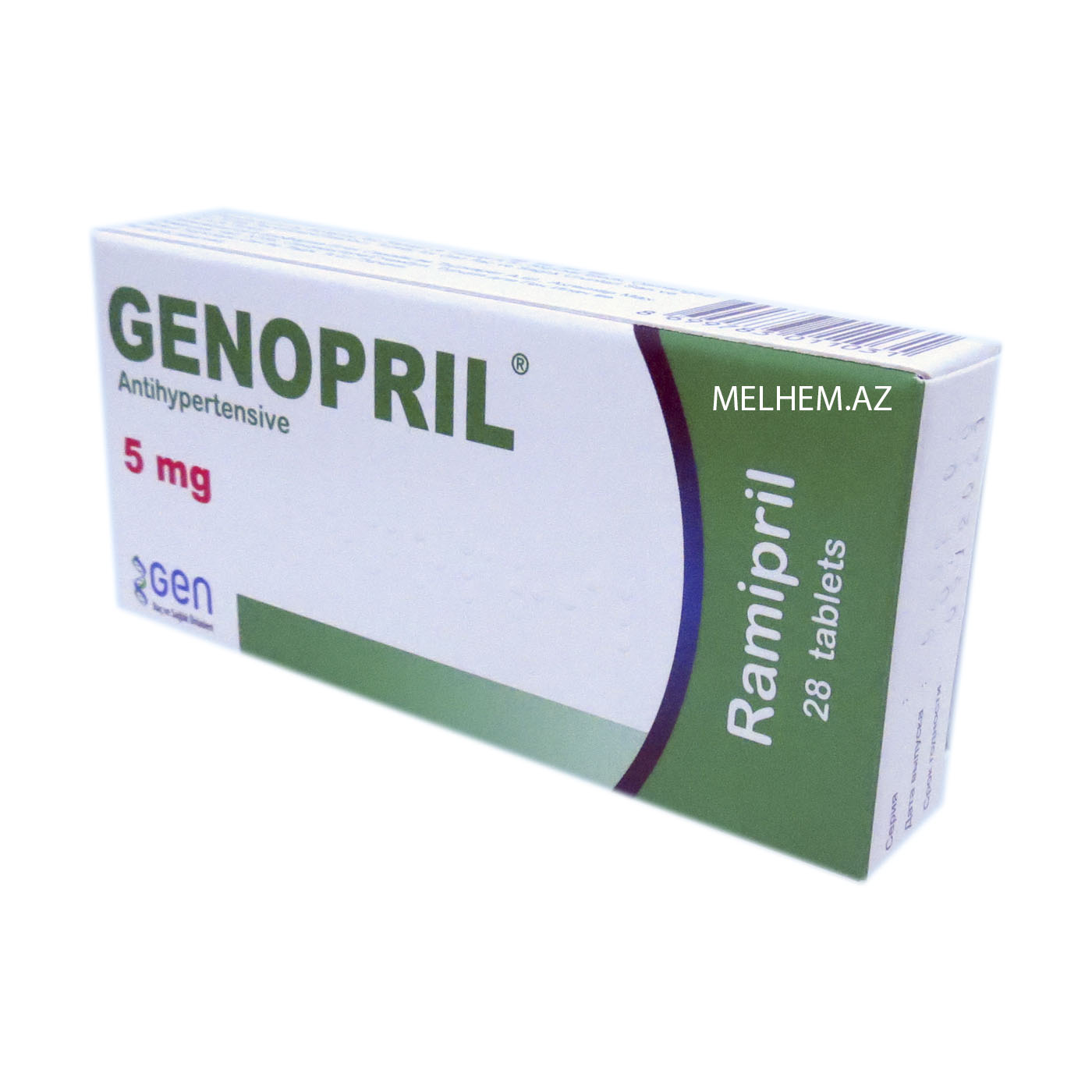 GENOPRIL 5 MG