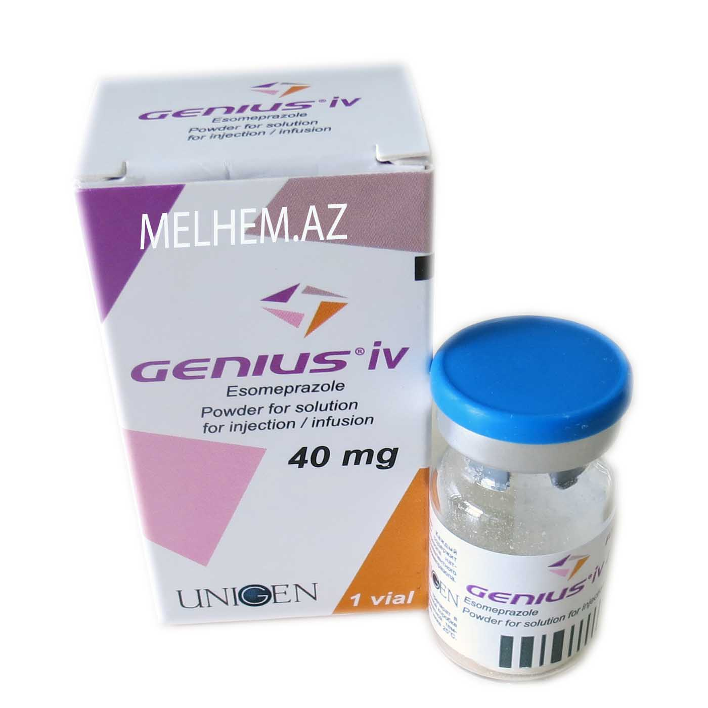 GENIUS İV 40MG