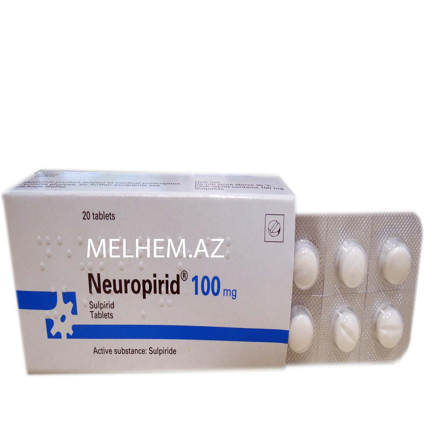 NEUROPİRİD 100 MG