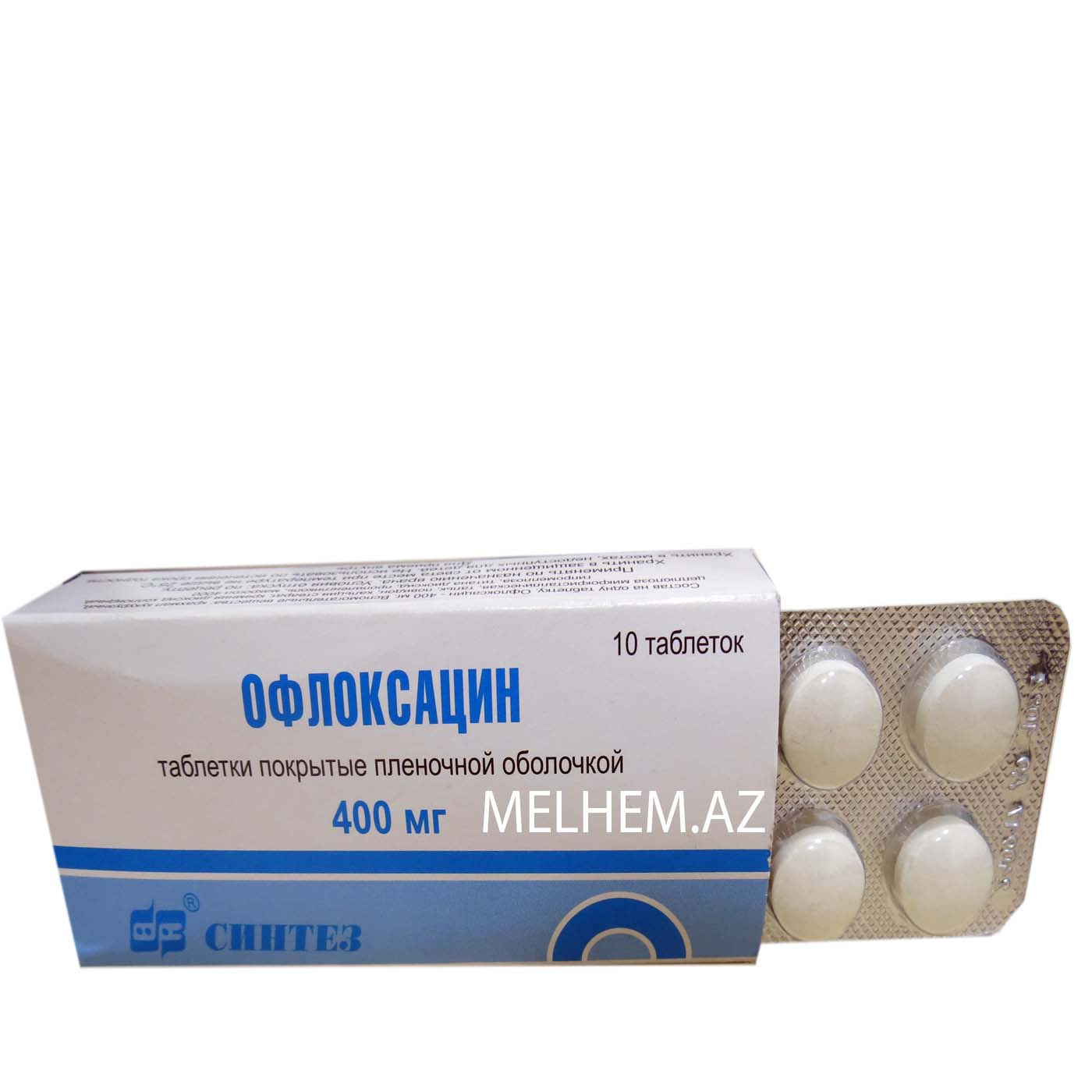 OFLOKSASİN 400 MG